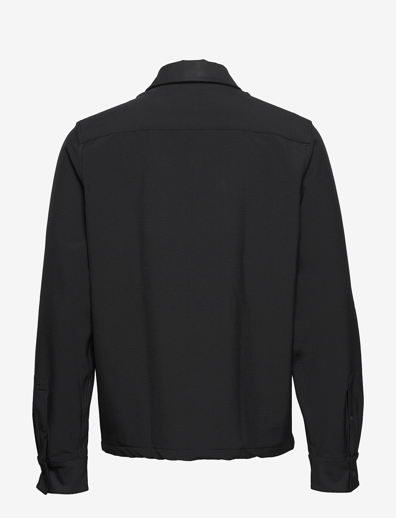 Calvin Klein - TECHNICAL STRETCH SHIRT - overshirts - calvin black - 1