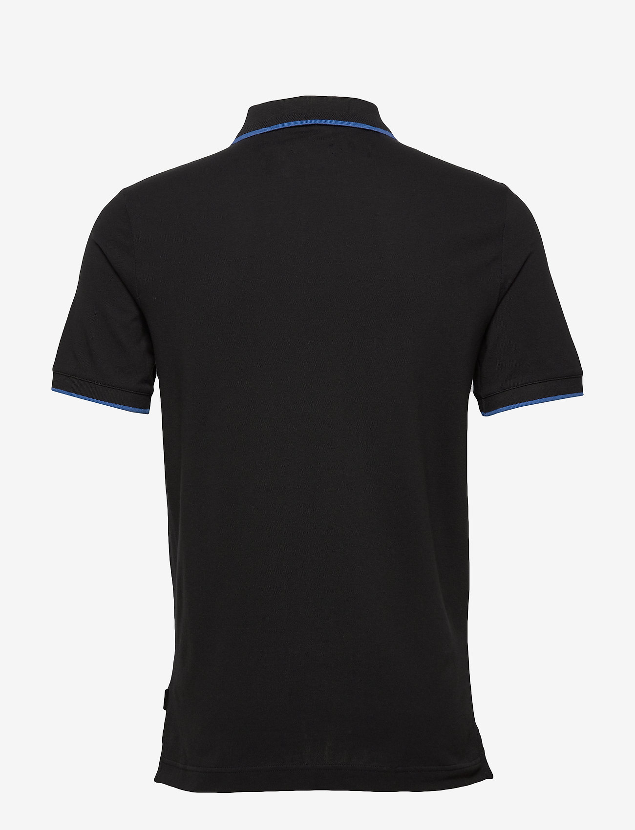 Calvin Klein - STRETCH TIPPING SLIM POLO - korte mouwen - calvin black - 1