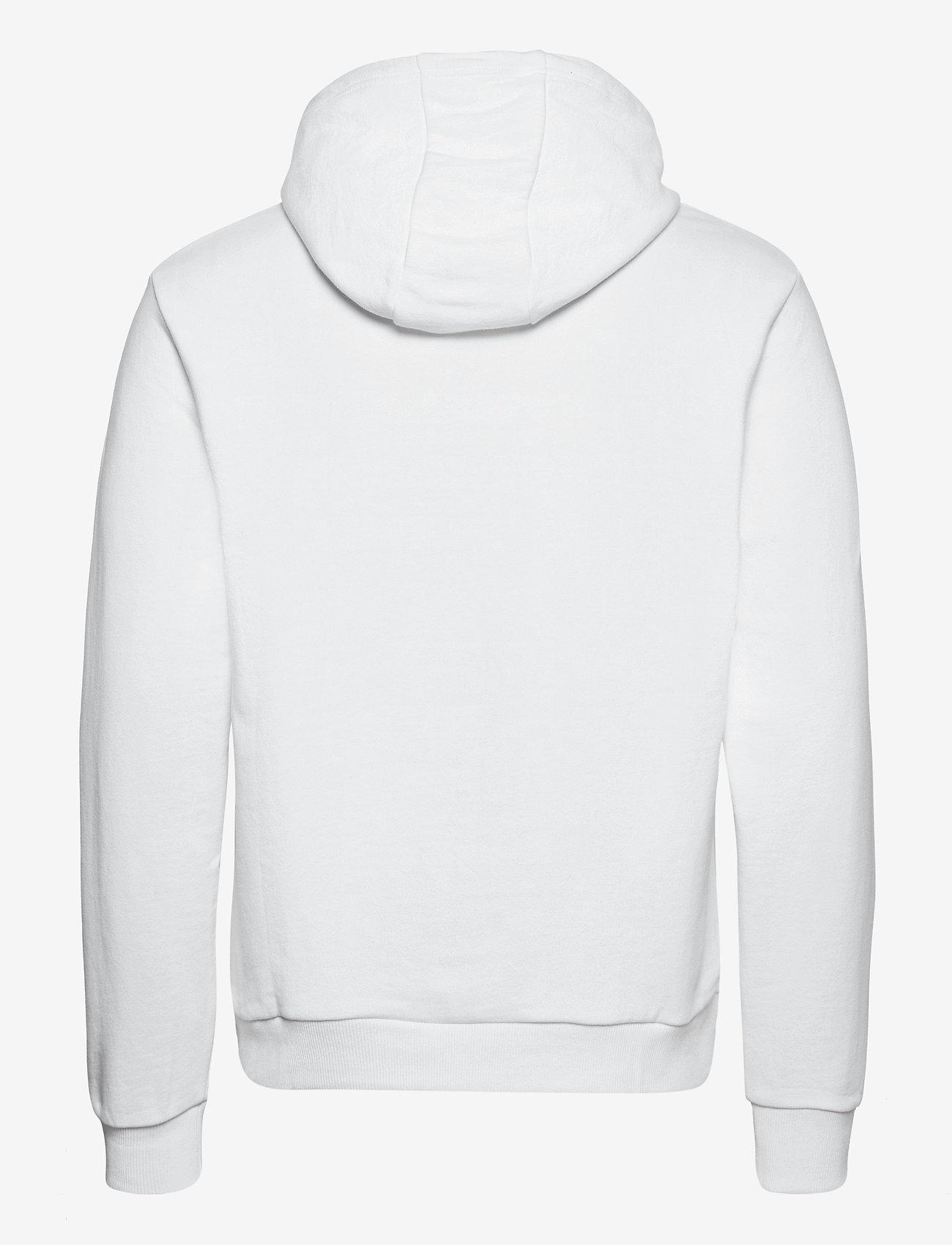 Calvin Klein - LOGO EMBROIDERY HOODIE - hoodies - bright white - 1
