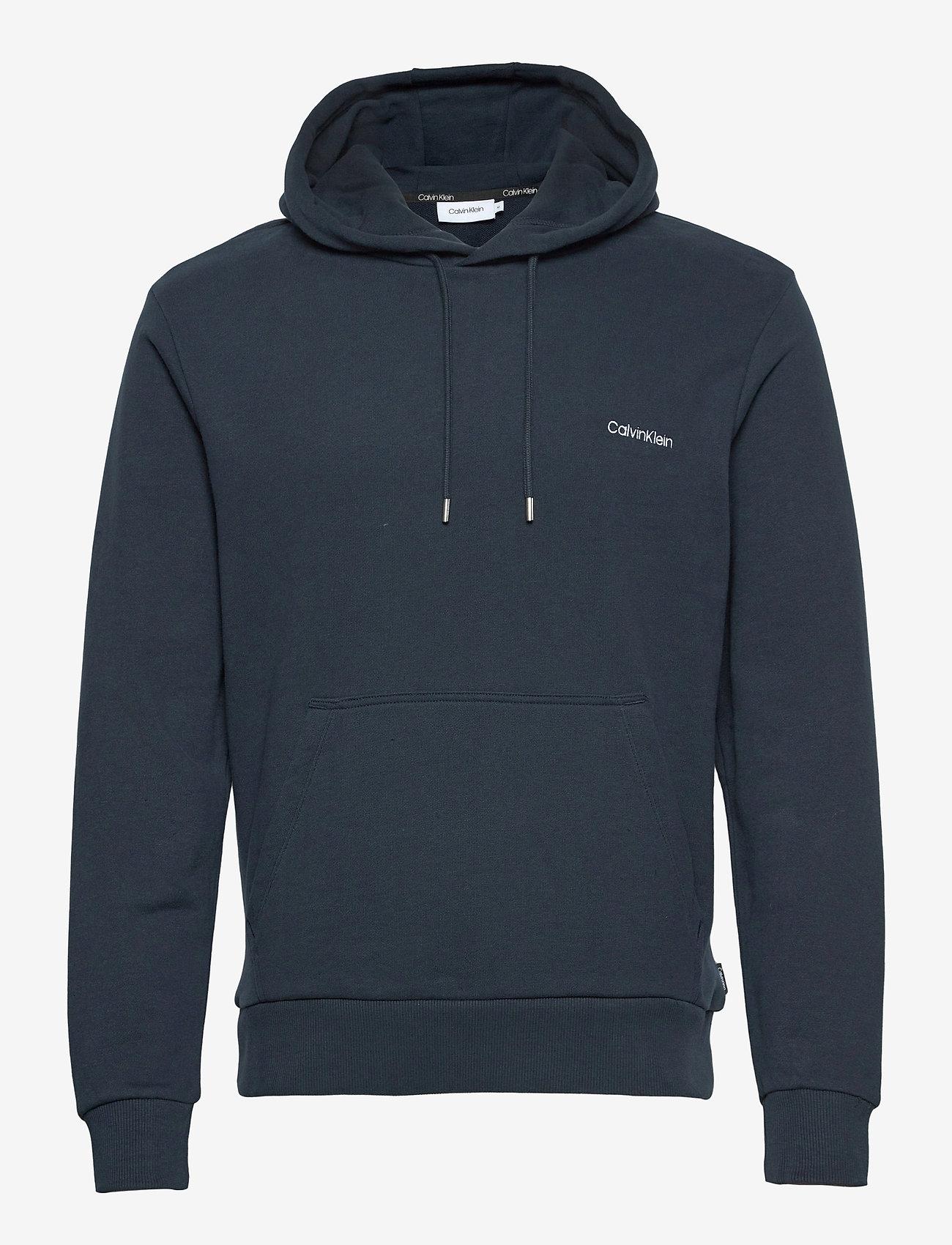 Calvin Klein - LOGO EMBROIDERY HOODIE - hoodies - calvin navy - 0