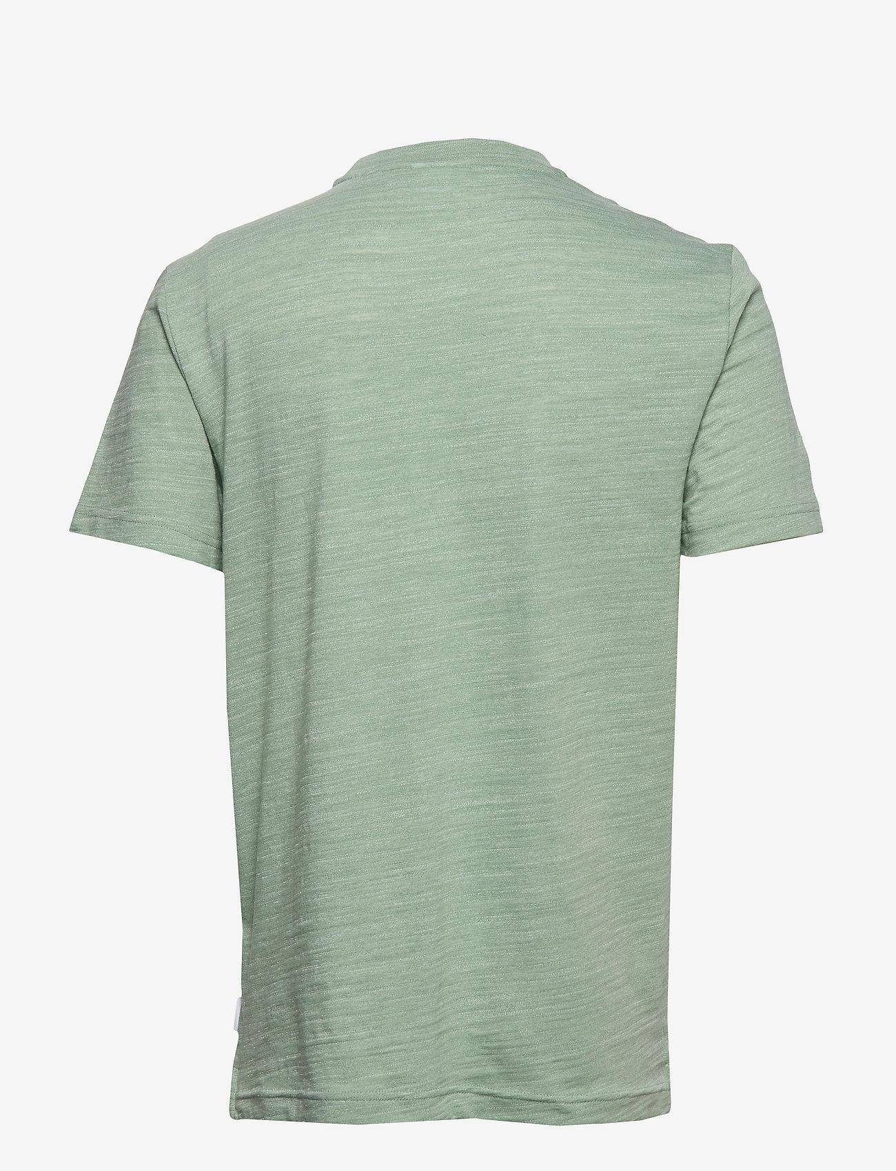 Calvin Klein ID Logo T Shirt in Green