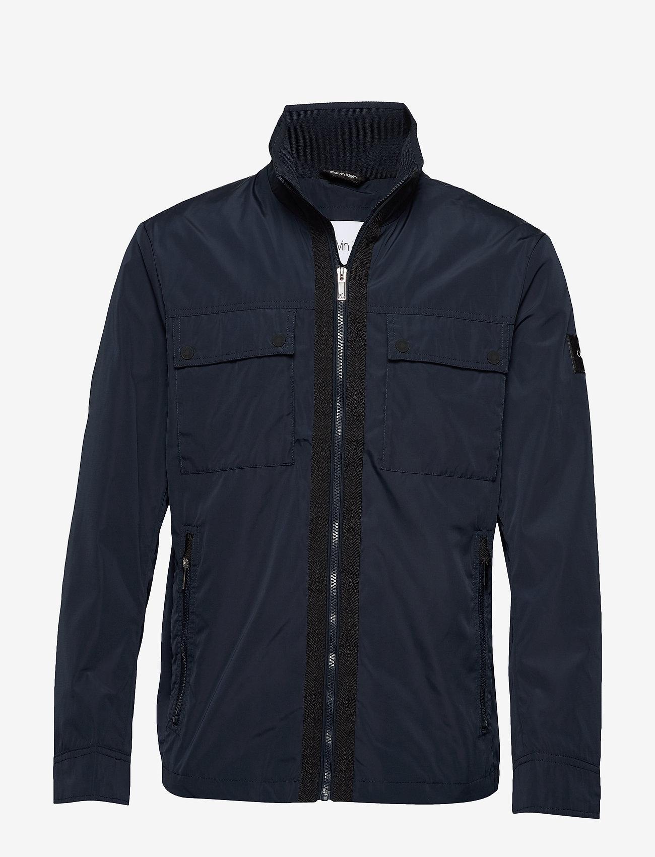 Calvin Klein - SHELL FIELD JACKET - light jackets - calvin navy - 0