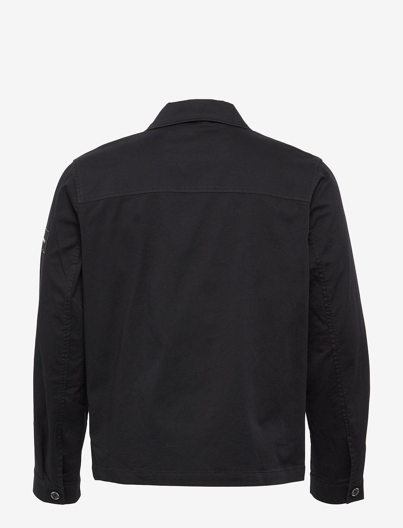 Calvin Klein - GMT WASHED CTN WORKW - light jackets - calvin black - 1