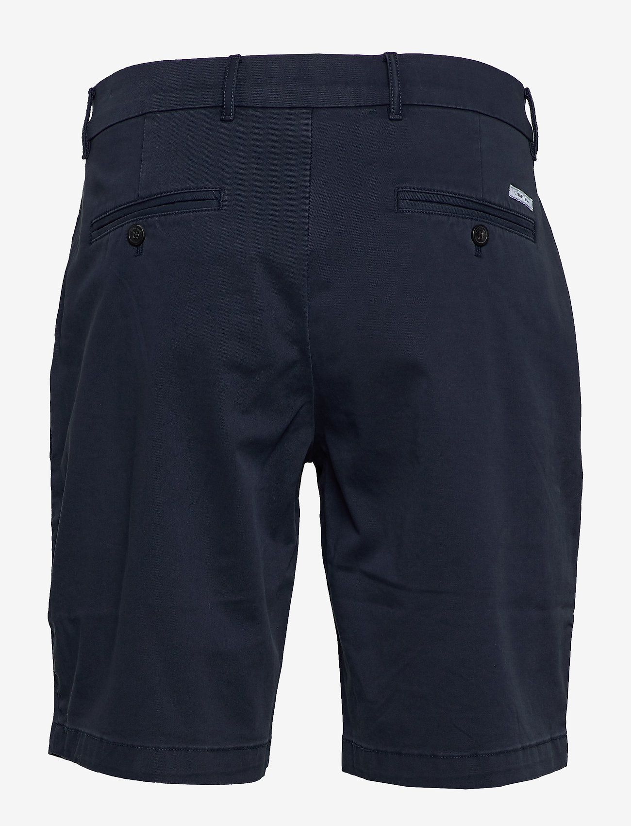 Calvin Klein - SLIM FIT GARMENT DYED SHORTS - tailored shorts - calvin navy - 1