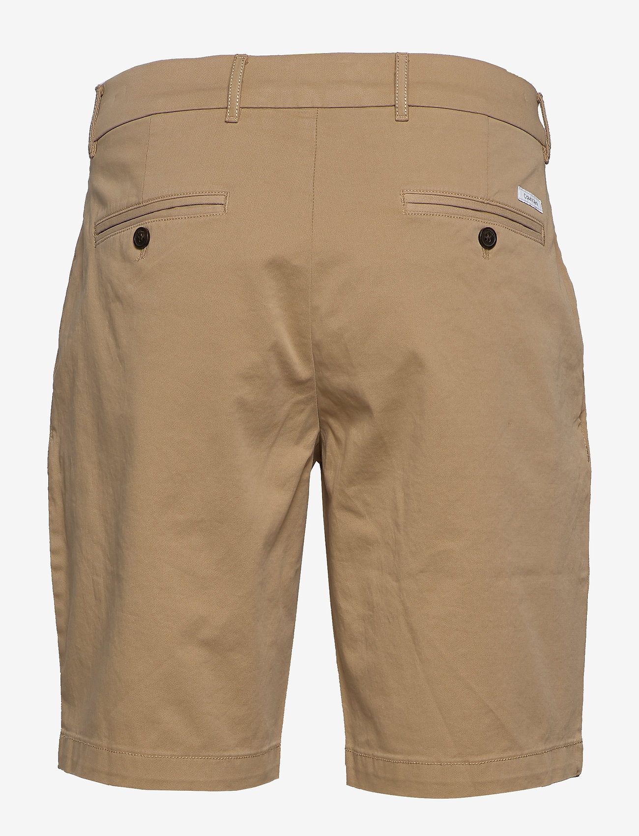 Calvin Klein - SLIM FIT GARMENT DYE - tailored shorts - travertine - 1
