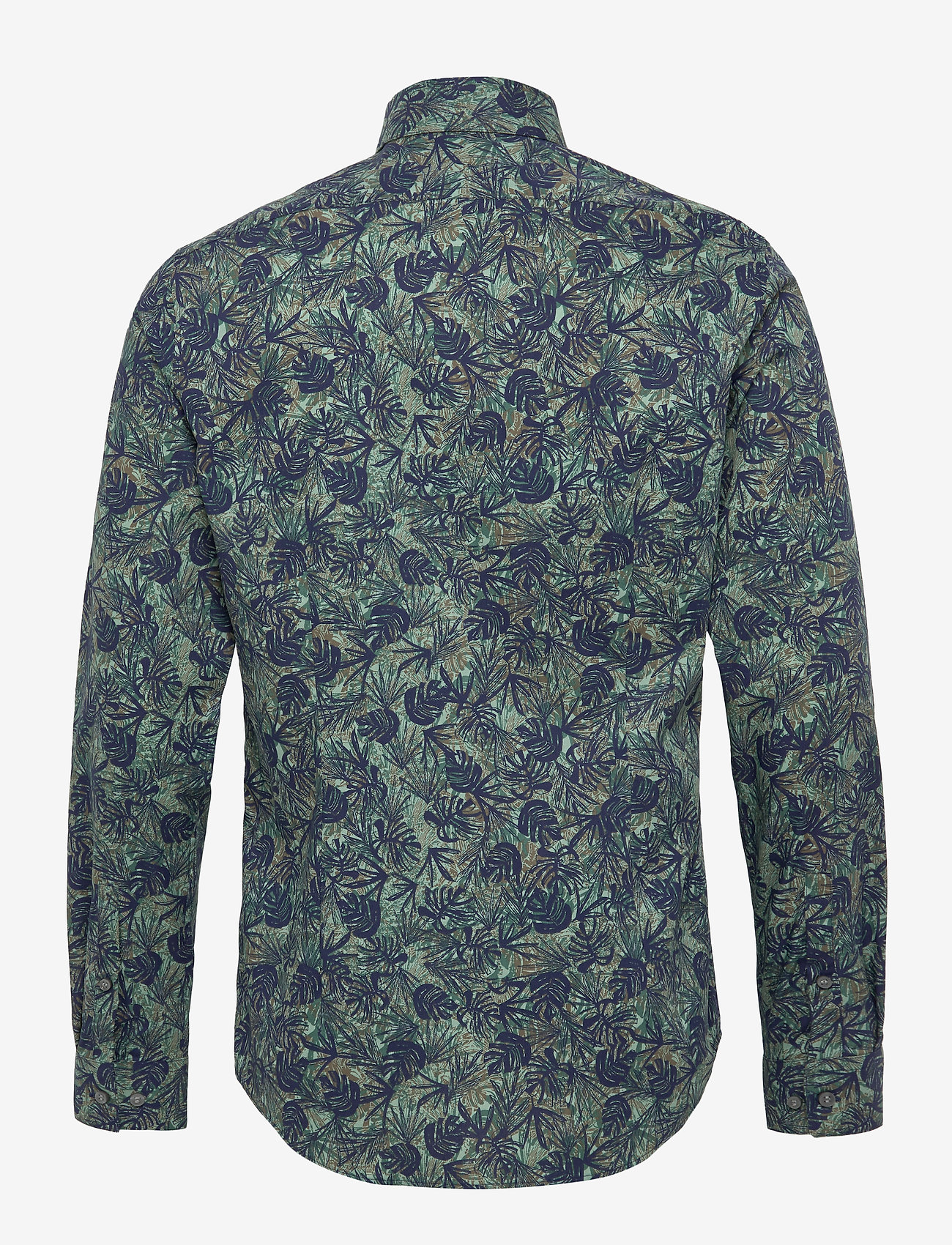 Calvin Klein - PALM PRINT SLIM SHIRT - casual overhemden - kalamata - 1
