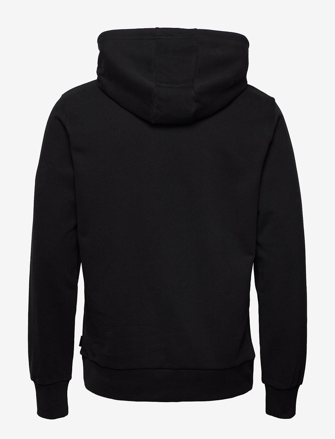 Calvin Klein - CALVIN SHADOW LOGO HOODIE - hoodies - ck black - 1