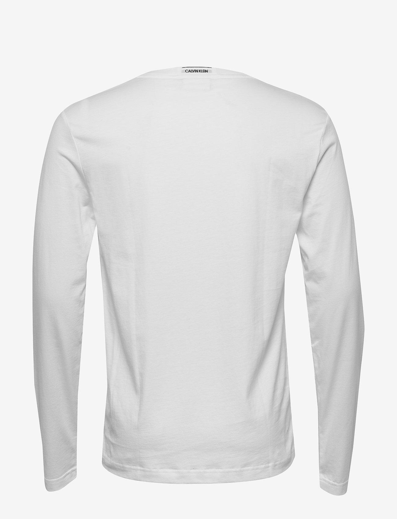 Calvin Klein Liquid Logo Long Sleeve T-shirt - T-shirts