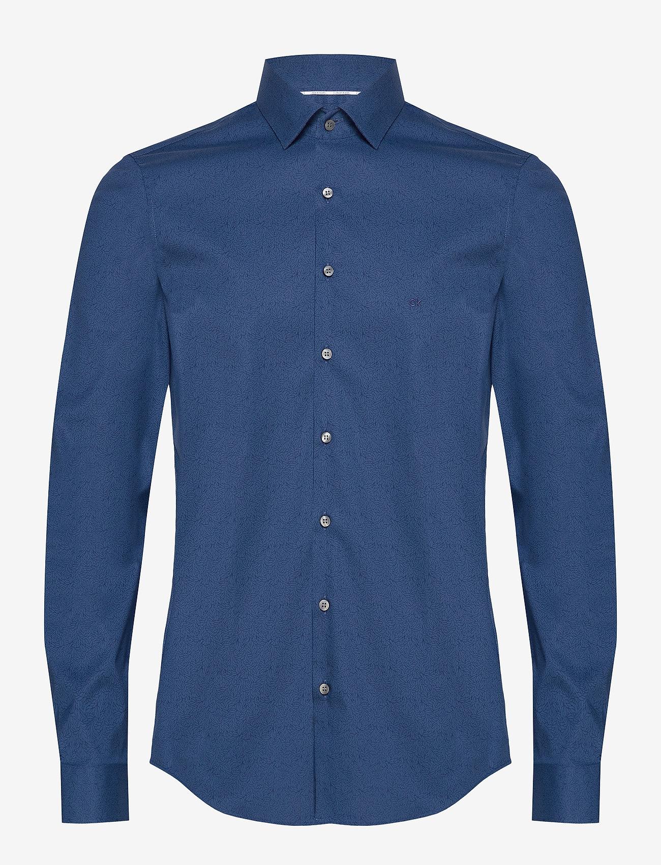 Calvin Klein - PRINTED STRETCH SLIM SHIRT - formele overhemden - stellar - 0