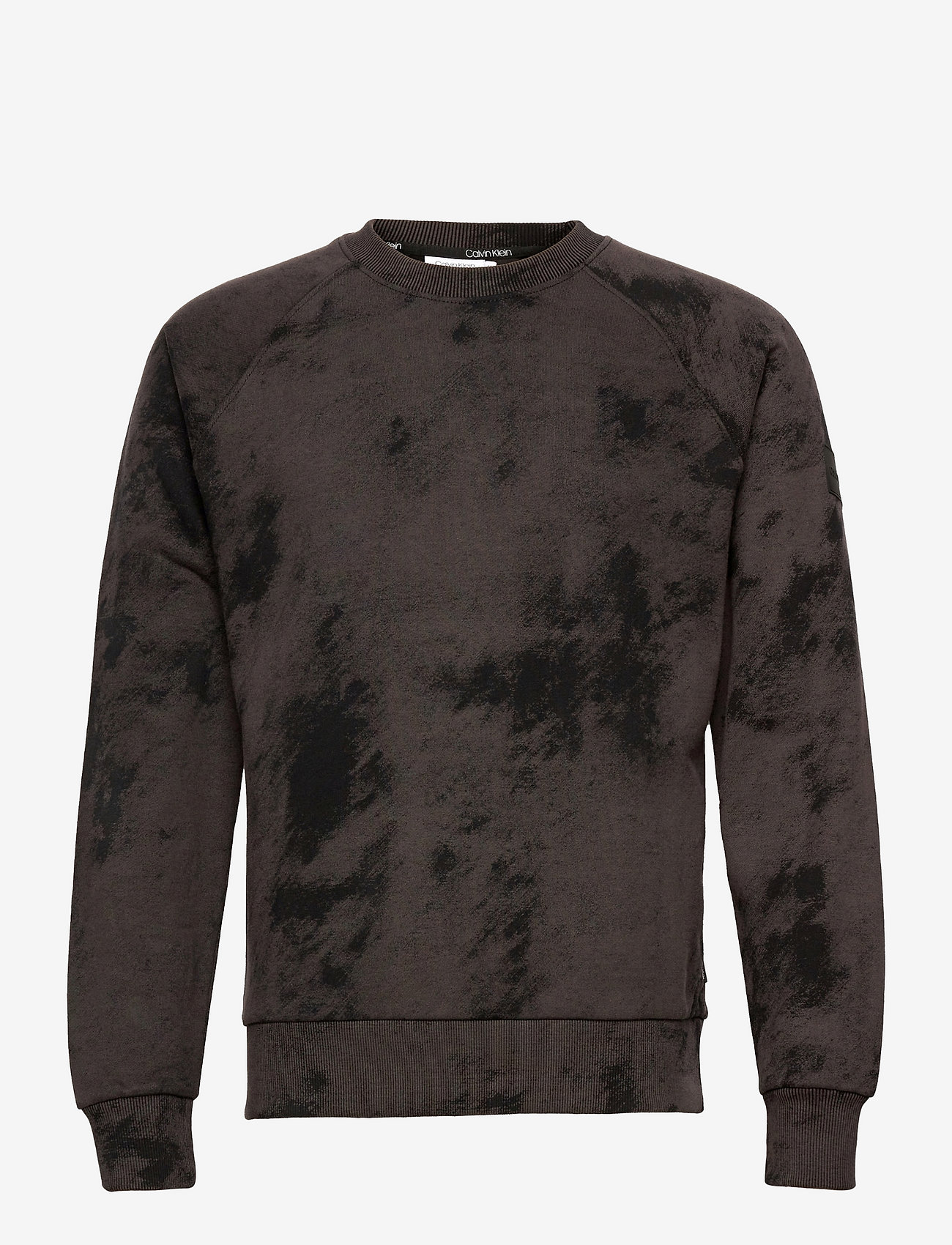 Calvin Klein - CLOUD PRINT SWEATSHIRT - truien - ck black - 0
