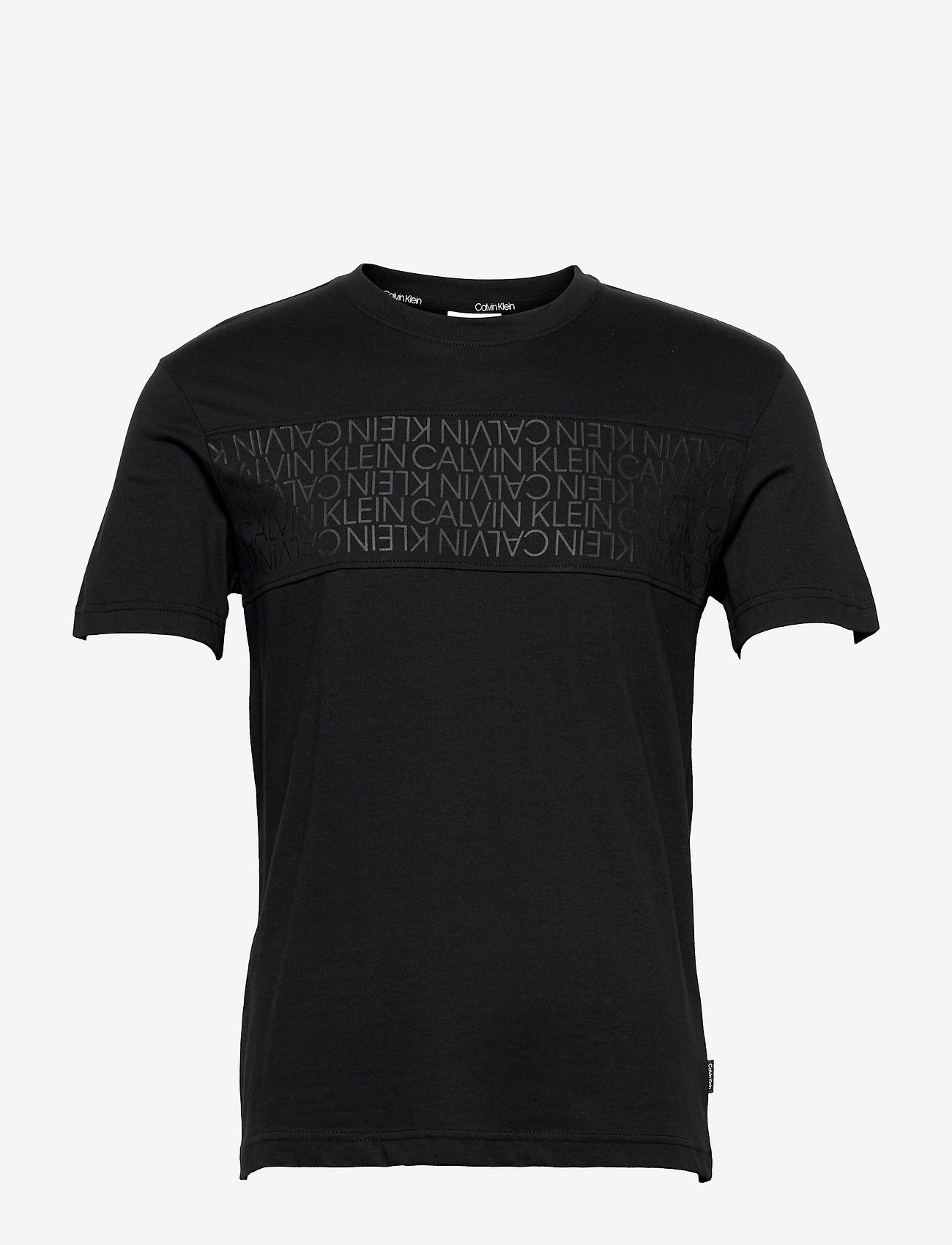 Calvin Klein - LOGO LINES T-SHIRT - ck black - 0