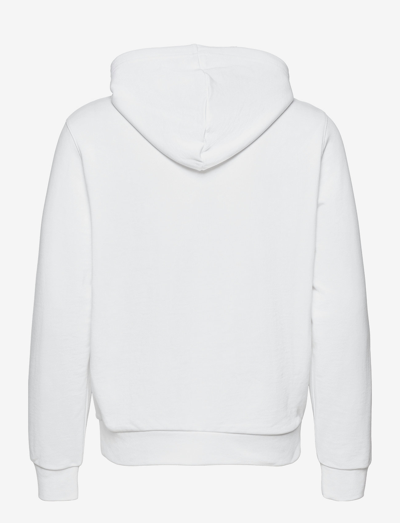 Calvin Klein - TRANSPARENT NYLON LOGO HOODIE - hoodies - bright white - 1