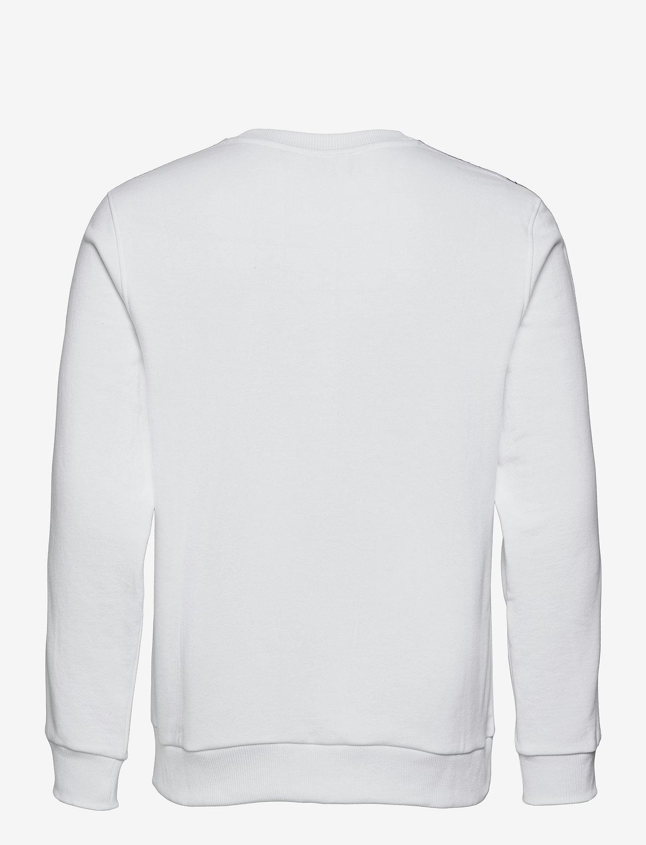 Calvin Klein - ESSENTIAL LOGO TAPE SWEATSHIRT - truien - bright white - 1