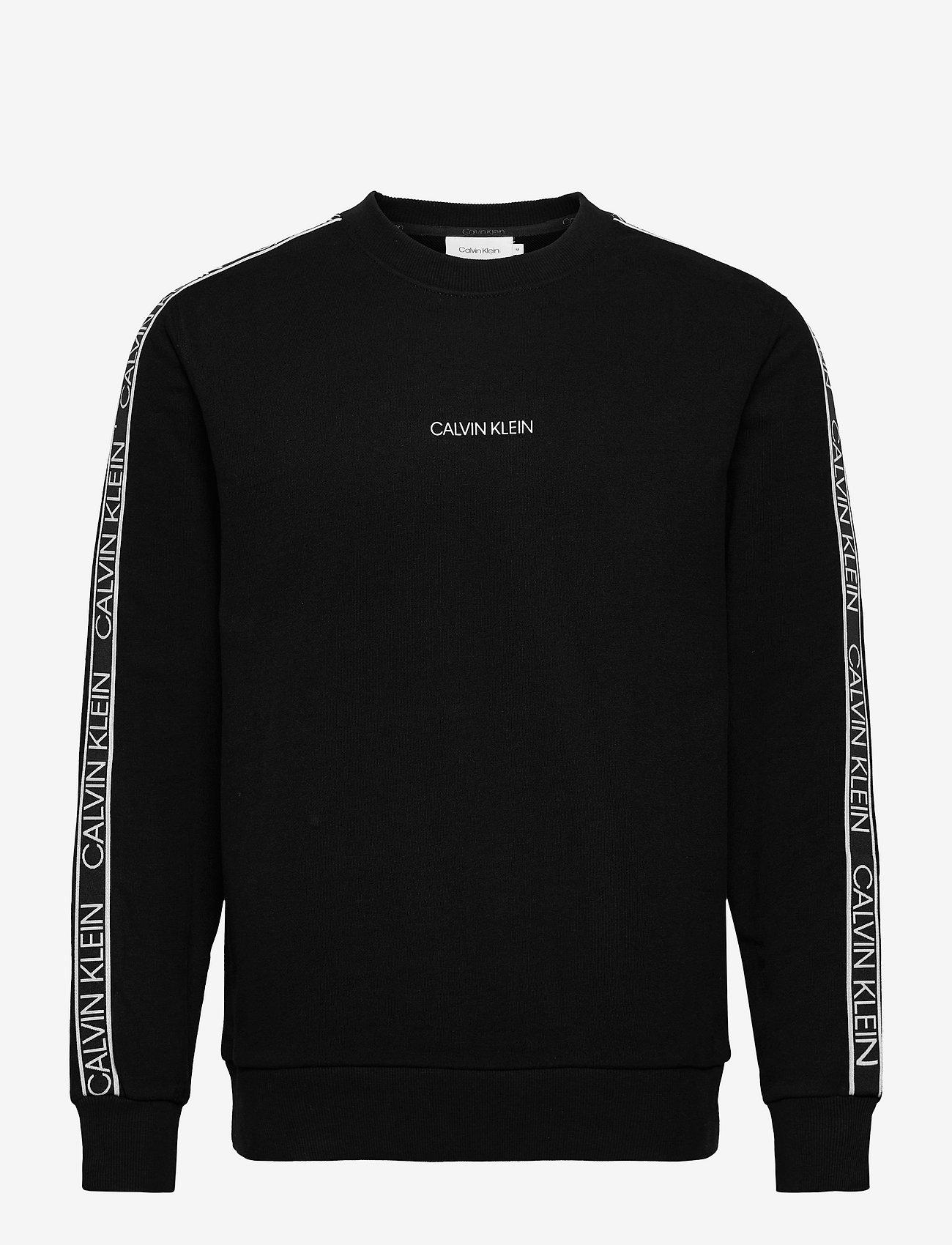 Calvin Klein - ESSENTIAL LOGO TAPE SWEATSHIRT - truien - ck black - 0
