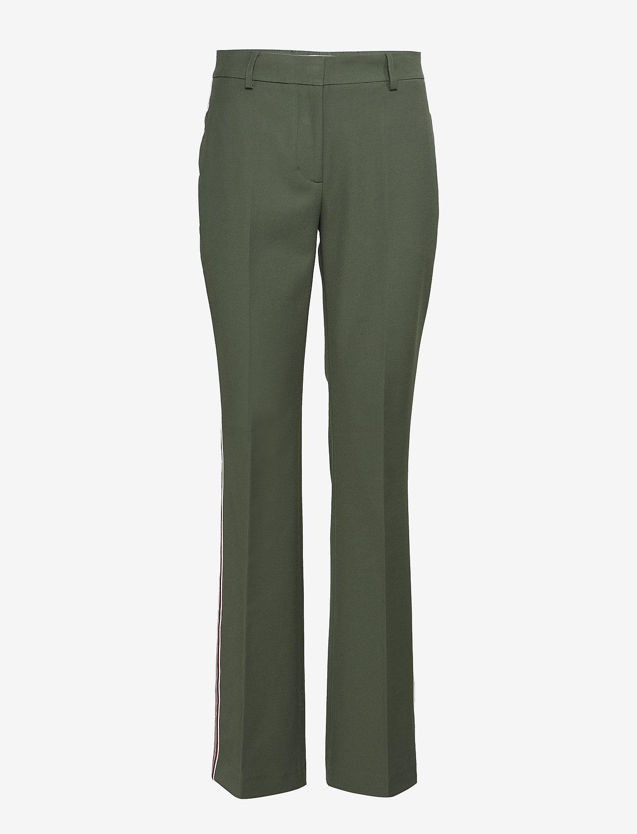 Calvin Klein - HIGH WAIST STP BOOTC - pantalons casual - fir - 0