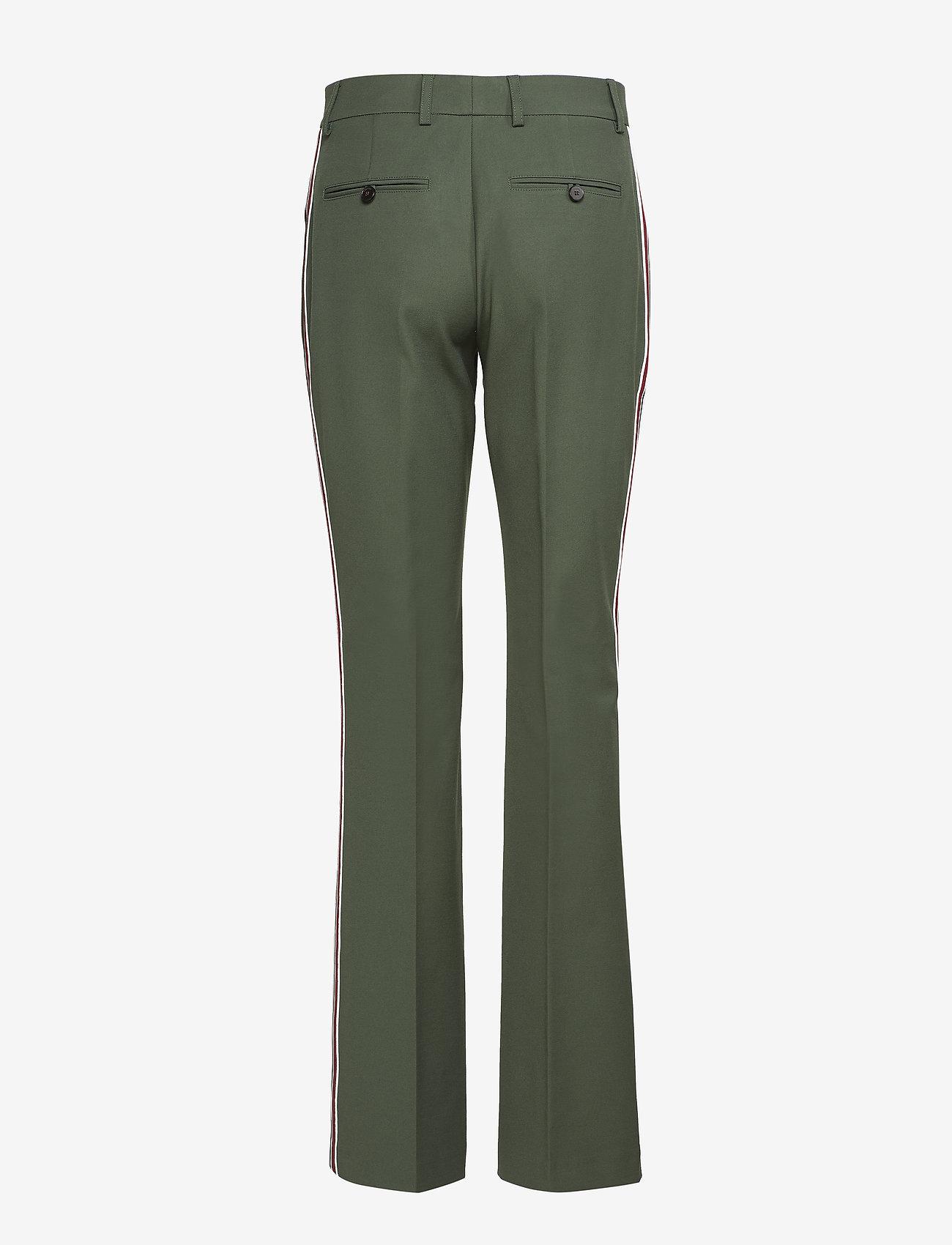 Calvin Klein - HIGH WAIST STP BOOTC - pantalons casual - fir - 1