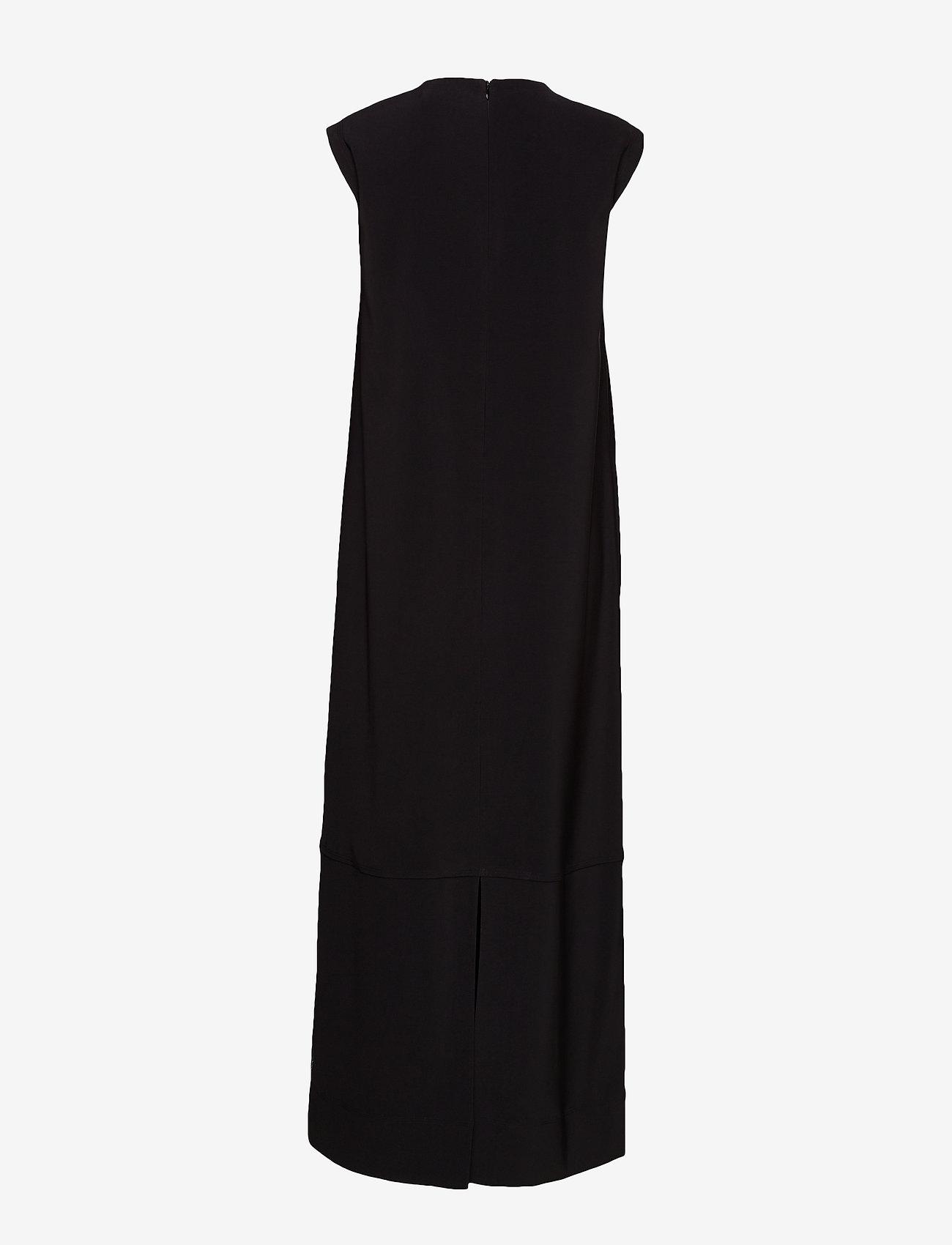 Calvin Klein Heavy Crepe Column Dress - Klänningar Black