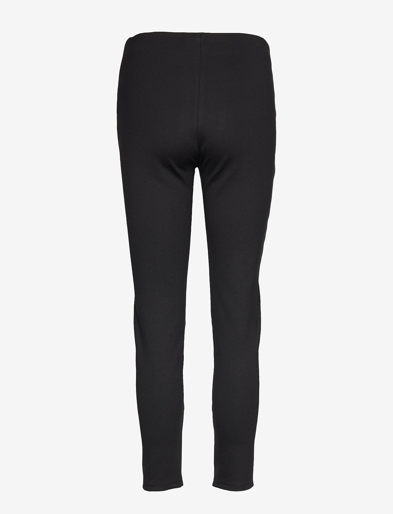 Calvin Klein - ESSENTIAL LEATHER MIX LEGGING - lederhosen - calvin black - 1