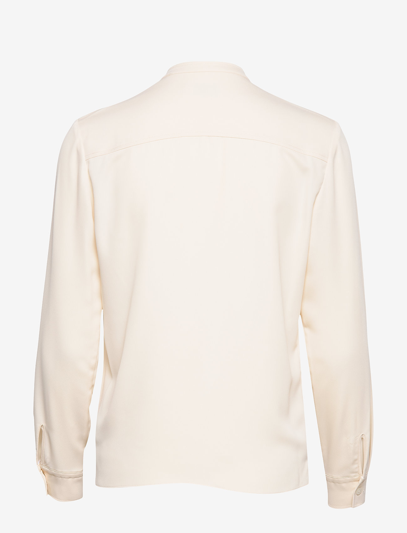 Ls Placket Detail Blouse (White Smoke) (660 kr) - Calvin Klein