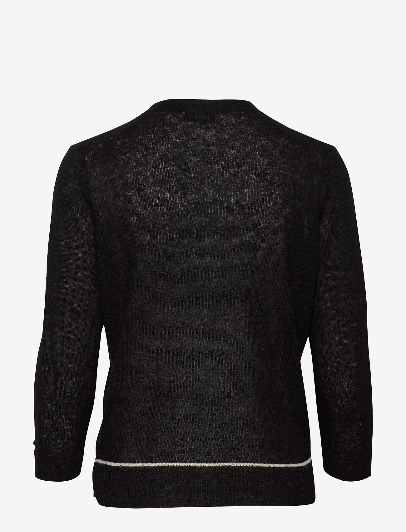 3/4 Sleeve Alpaca Blend Cardigan (Ck Black) (1400 kr) - Calvin Klein