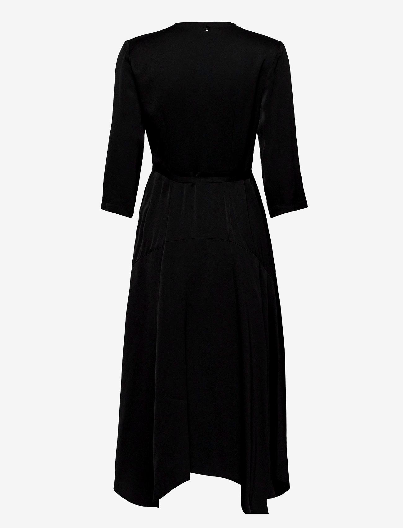 3/4 Slv Wrap Dress (Zebra Black Patchwork) (2600 kr) - Calvin Klein