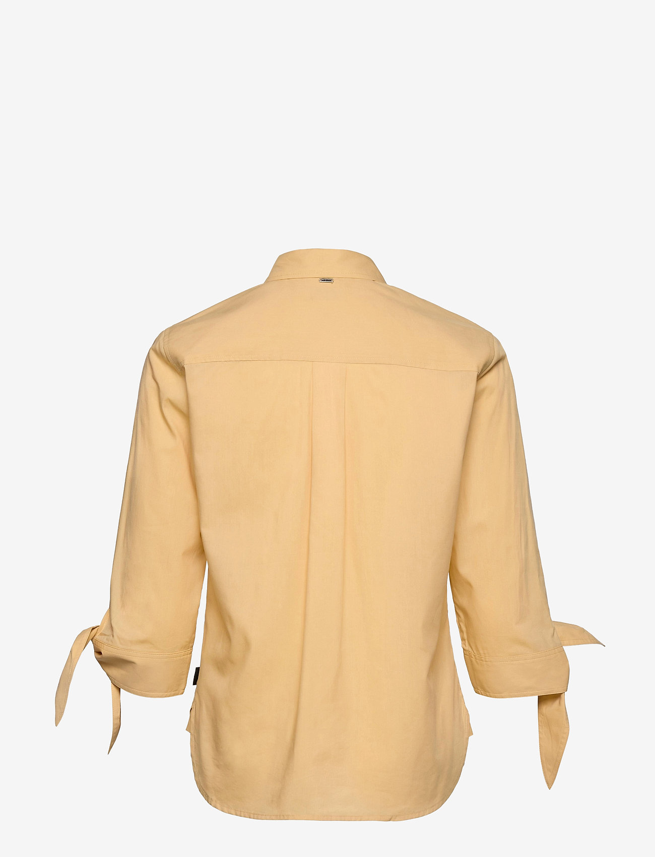 Soft Poplin 3/4 Tie Cuff Shirt (Muted Yellow) (900 kr) - Calvin Klein
