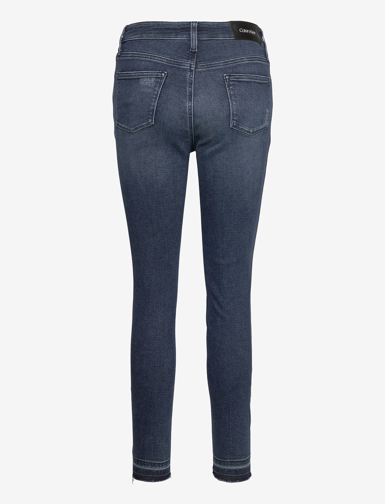 Calvin Klein - HIGH RISE SKINNY ANKLE - slim jeans - dark blue - 1