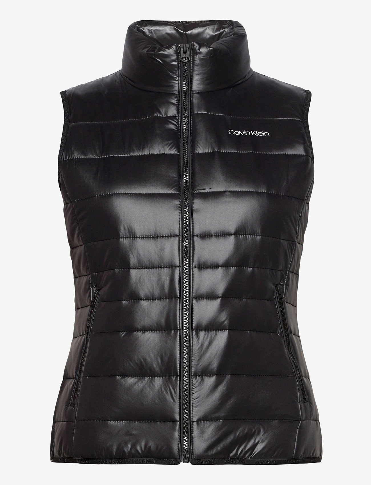 Calvin Klein - LT PACKABLE DOWN VEST - puffer vests - ck black - 0