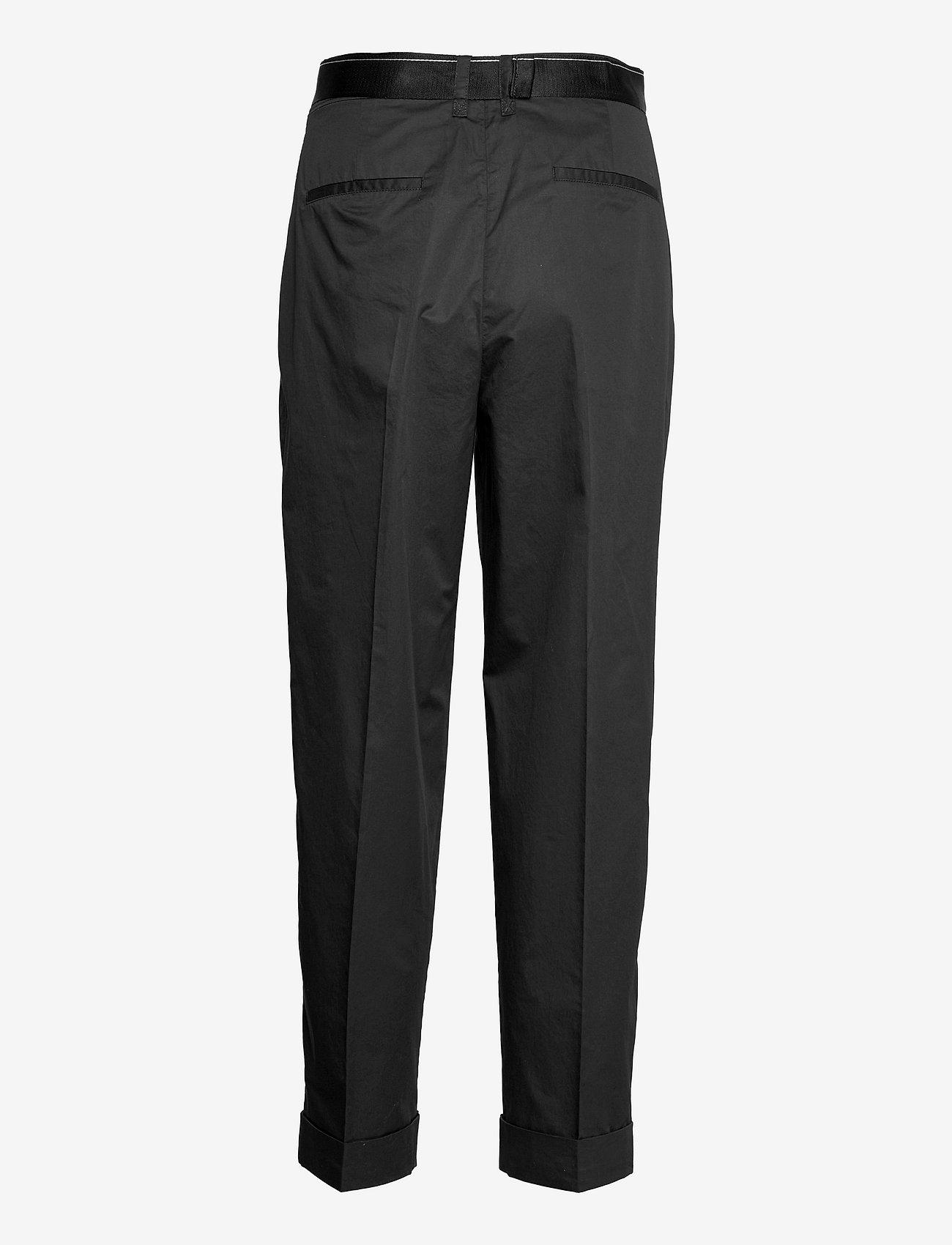 Calvin Klein - SILKY TOUCH PANT - pantalons droits - ck black - 1