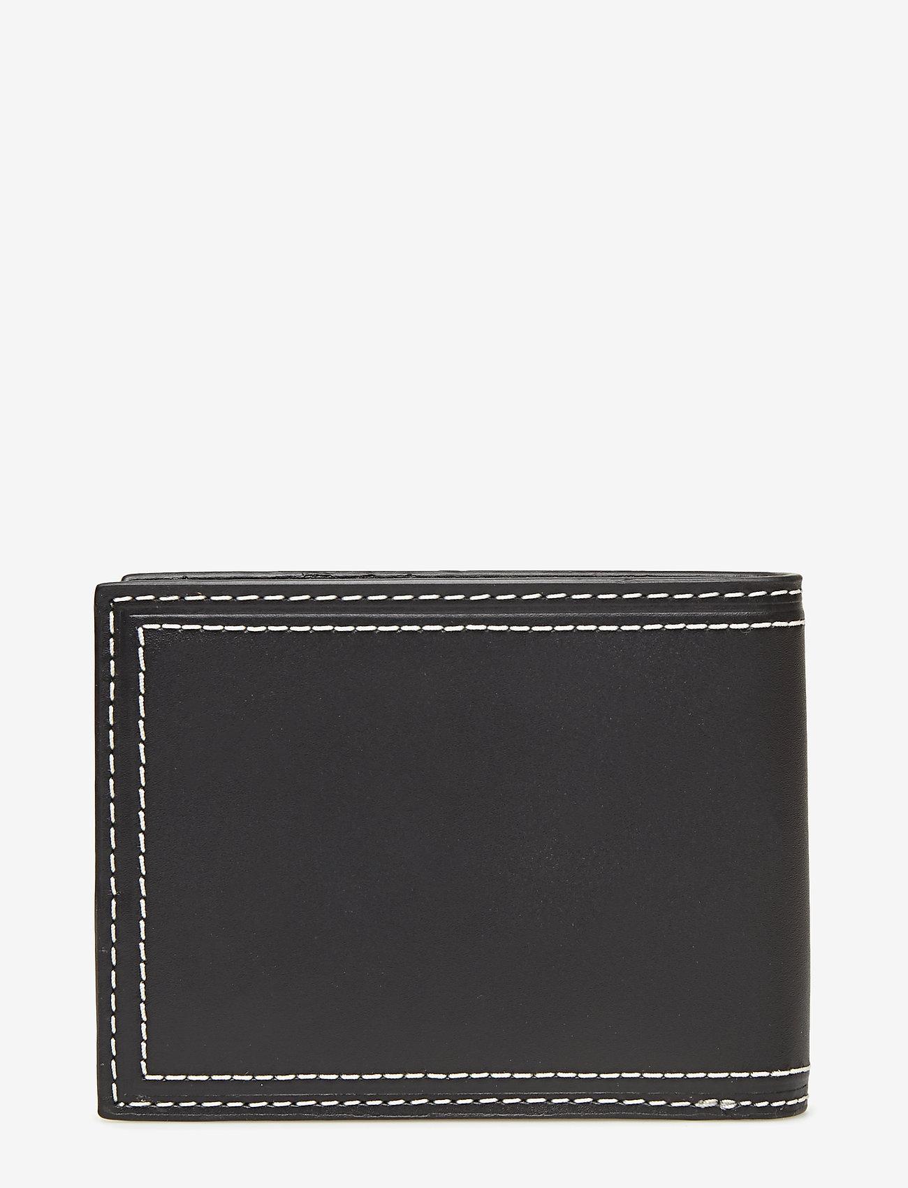 Calvin Klein - DOUBLE STITCH BILLFO - beurzen - black - 1