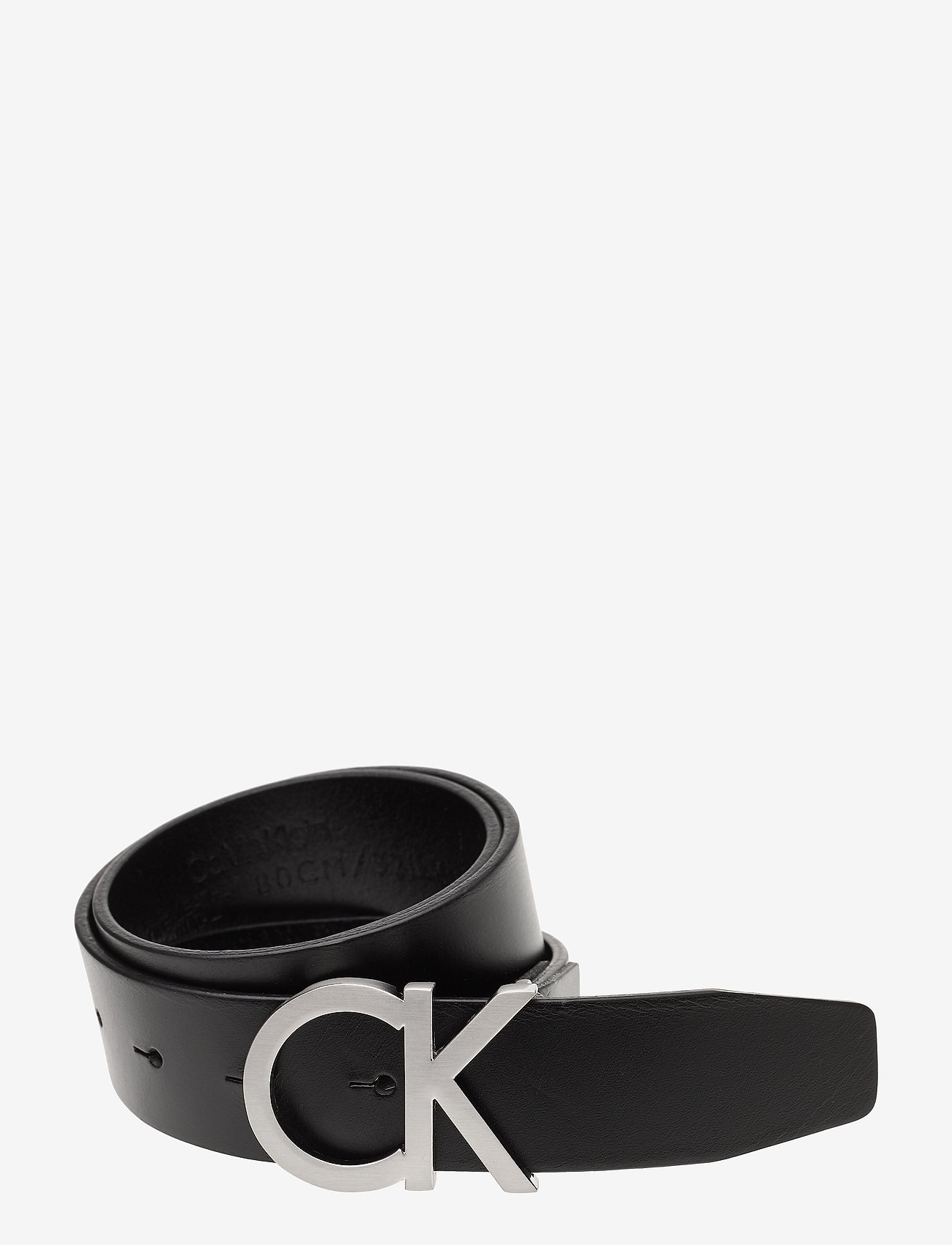 Calvin Klein - CK ADJ. BUCKLE BELT - belts - black - 0