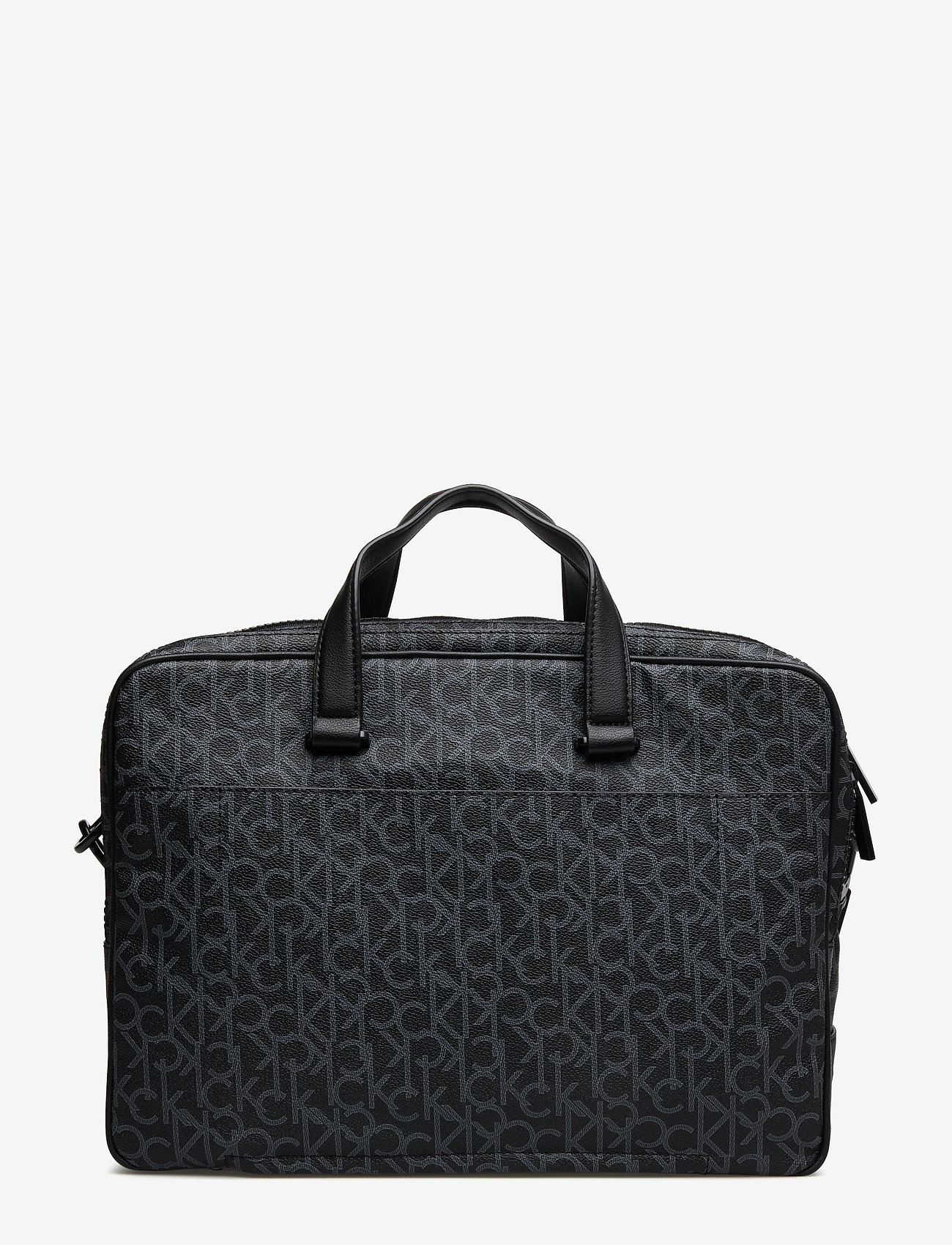 Calvin Klein - CK MONO LAPTOP BAG E - tietokonelaukut - black monogram - 1