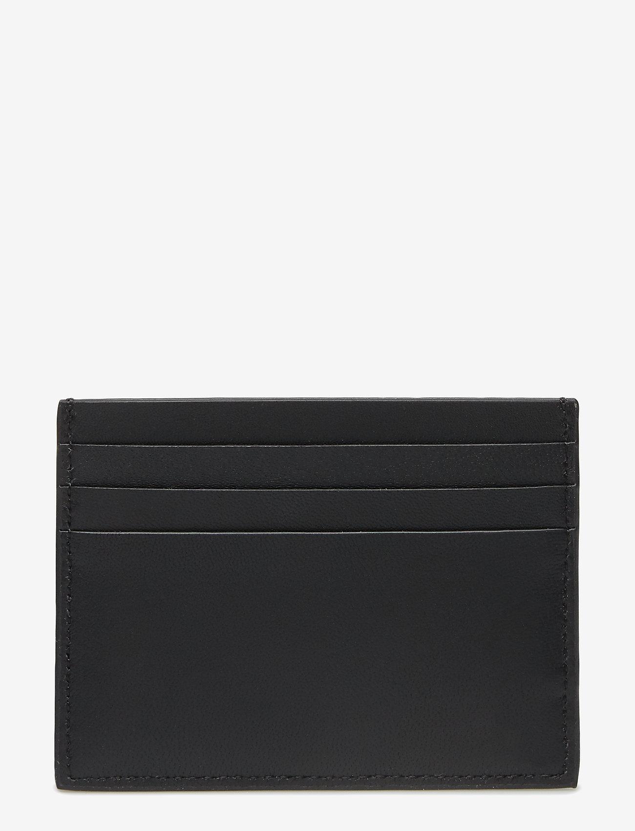Calvin Klein - SMOOTH W PLAQUE CARDHOLDER - cardholder - black - 1
