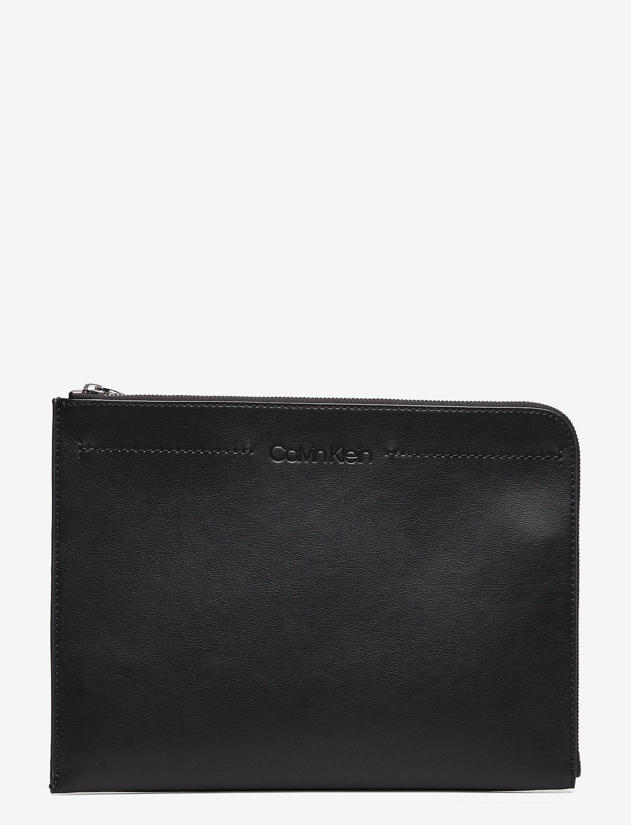 Calvin Klein - FLEX DOCUMENT CASE, - portefeuille classique - black - 0