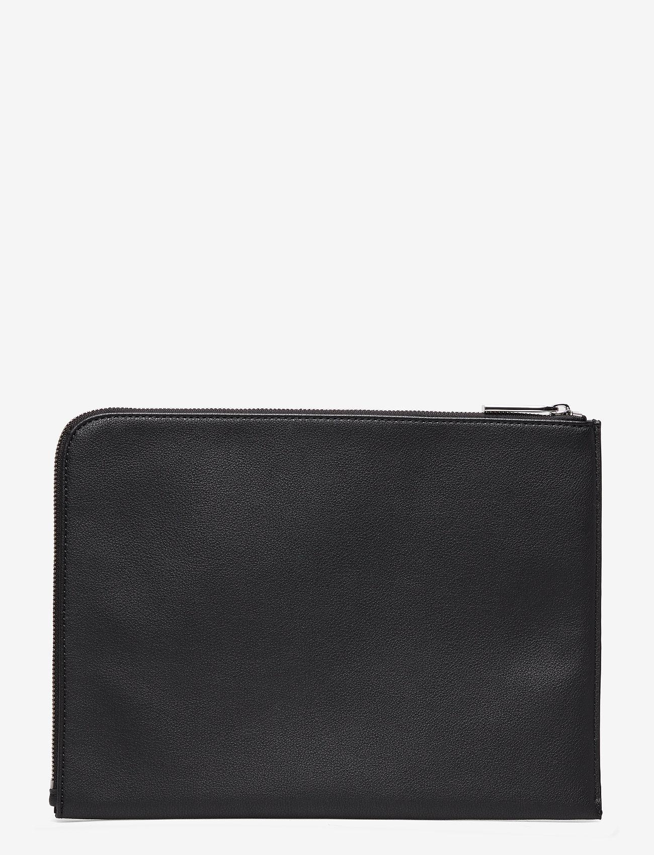 Calvin Klein - FLEX DOCUMENT CASE, - portefeuille classique - black - 1