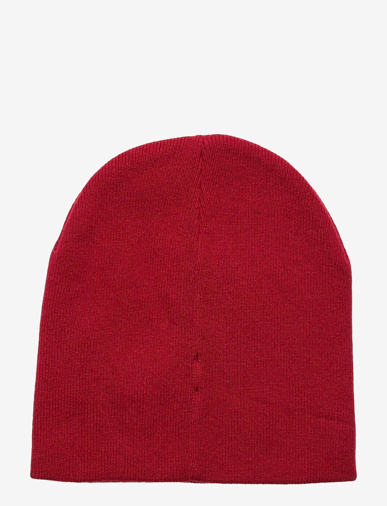 Calvin Klein - CLASSIC BEANIE - beanies - barn red - 1