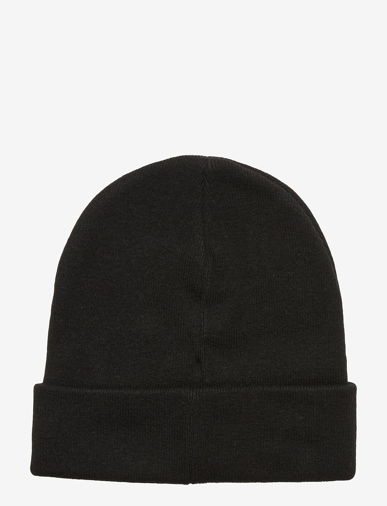 Calvin Klein - DROP SHADOW BEANIE - beanies - black - 1