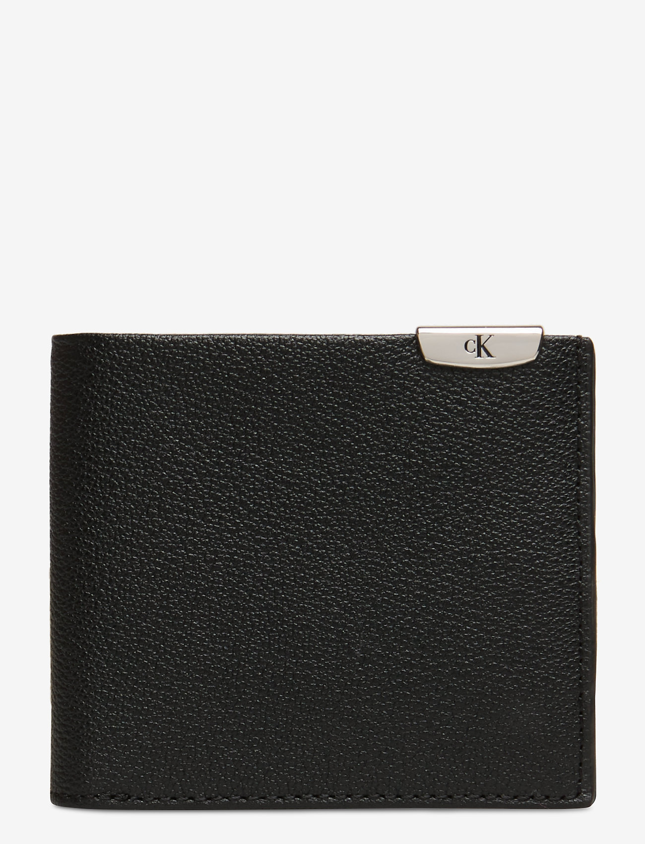 Calvin Klein - CKJ MICRO PEBBLE BILLFOLD - wallets - black - 0