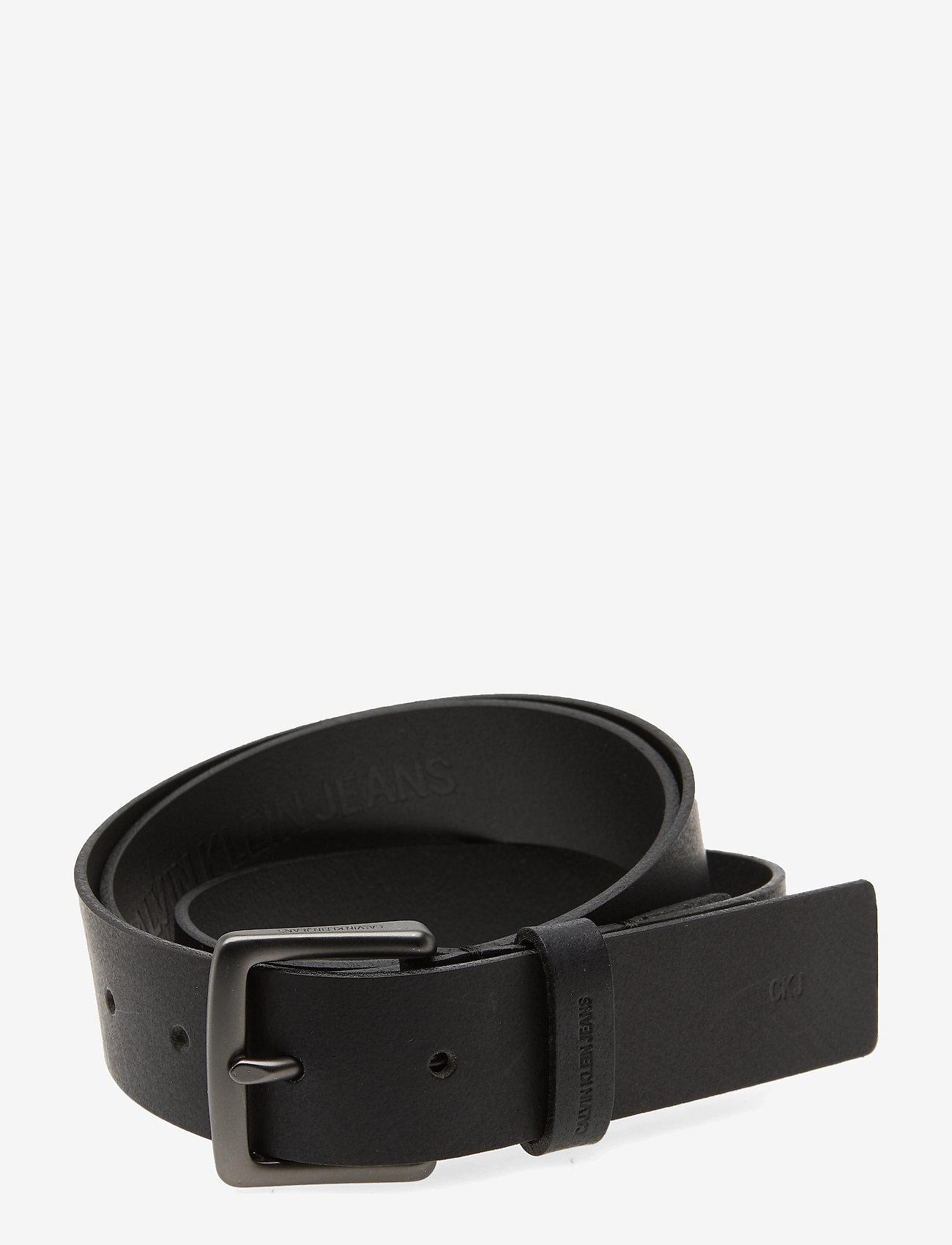 Calvin Klein - CKJ UNIFORM CLASSICADJBELT 35 MM - belts - black - 0