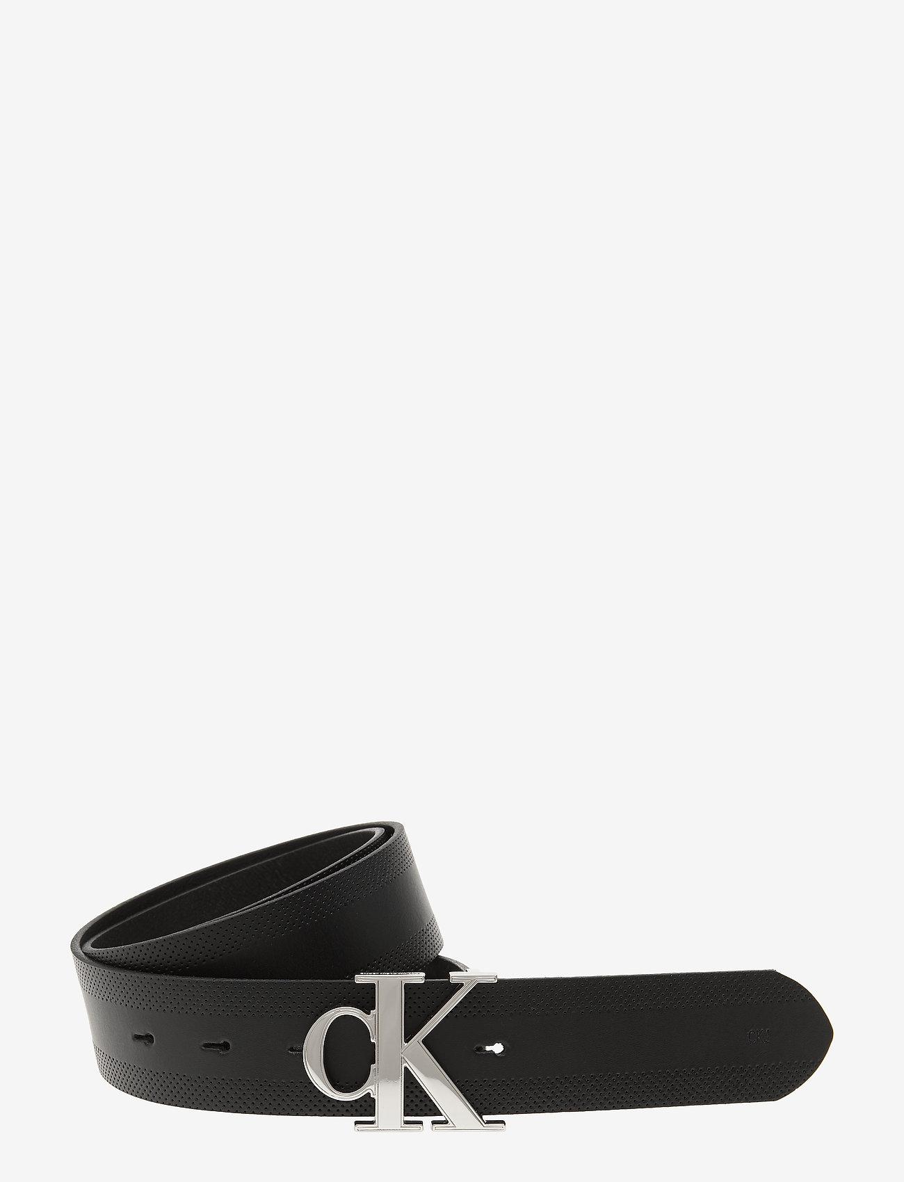 Calvin Klein - CKJ GYM CLASS MONOGR - ceintures classiques - black - 0