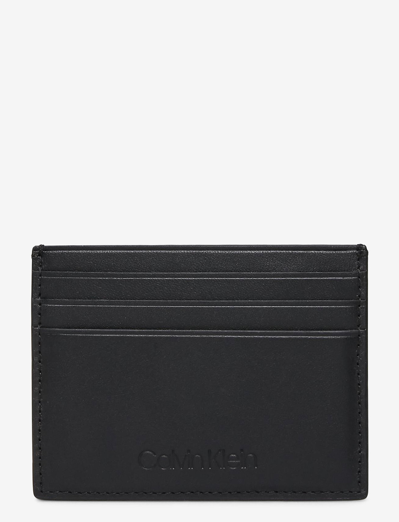 Calvin Klein - FIRST CARD HOLDER - kaarthouder - black - 0