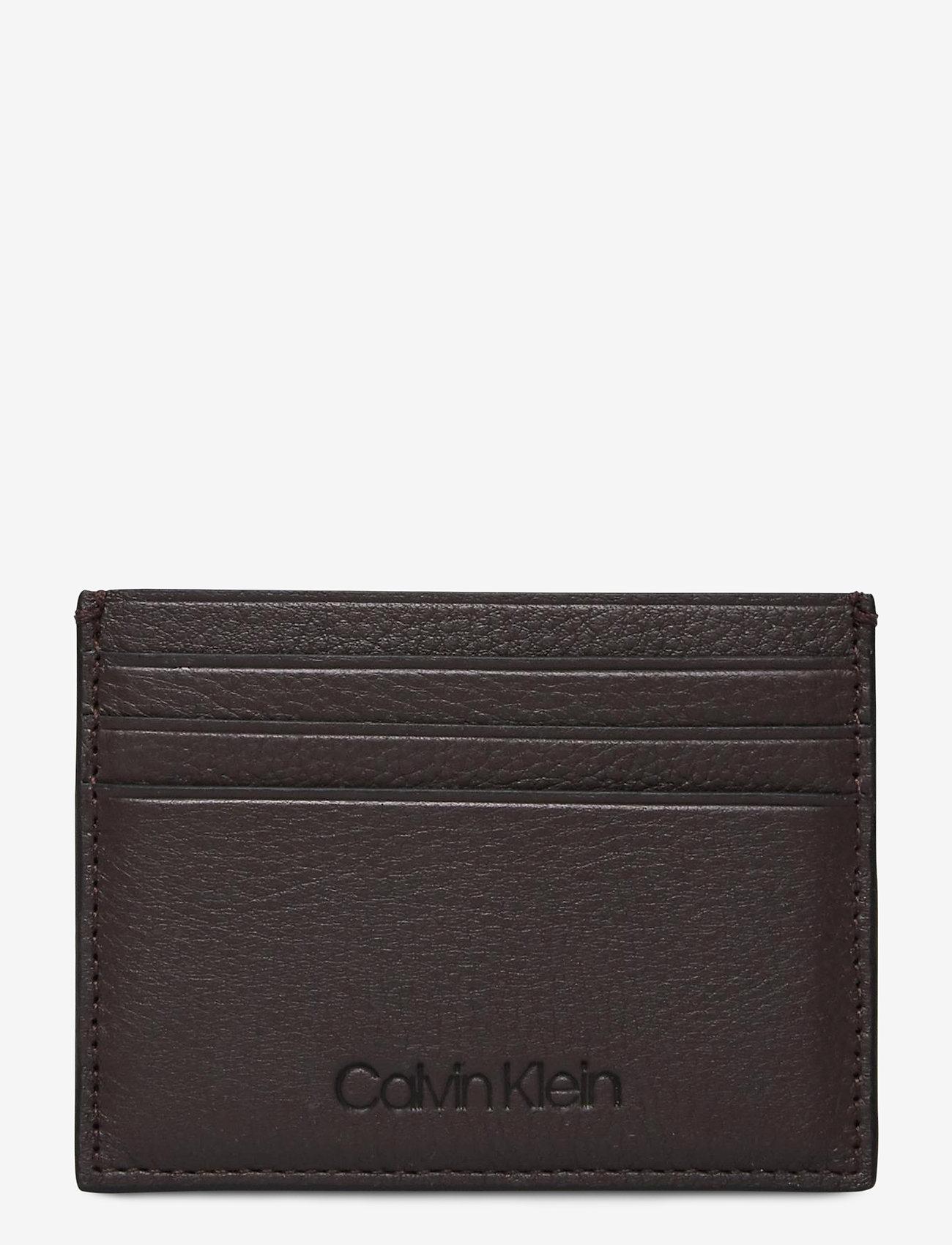 Calvin Klein - FIRST CARD HOLDER - kaarthouder - turkish coffee - 0