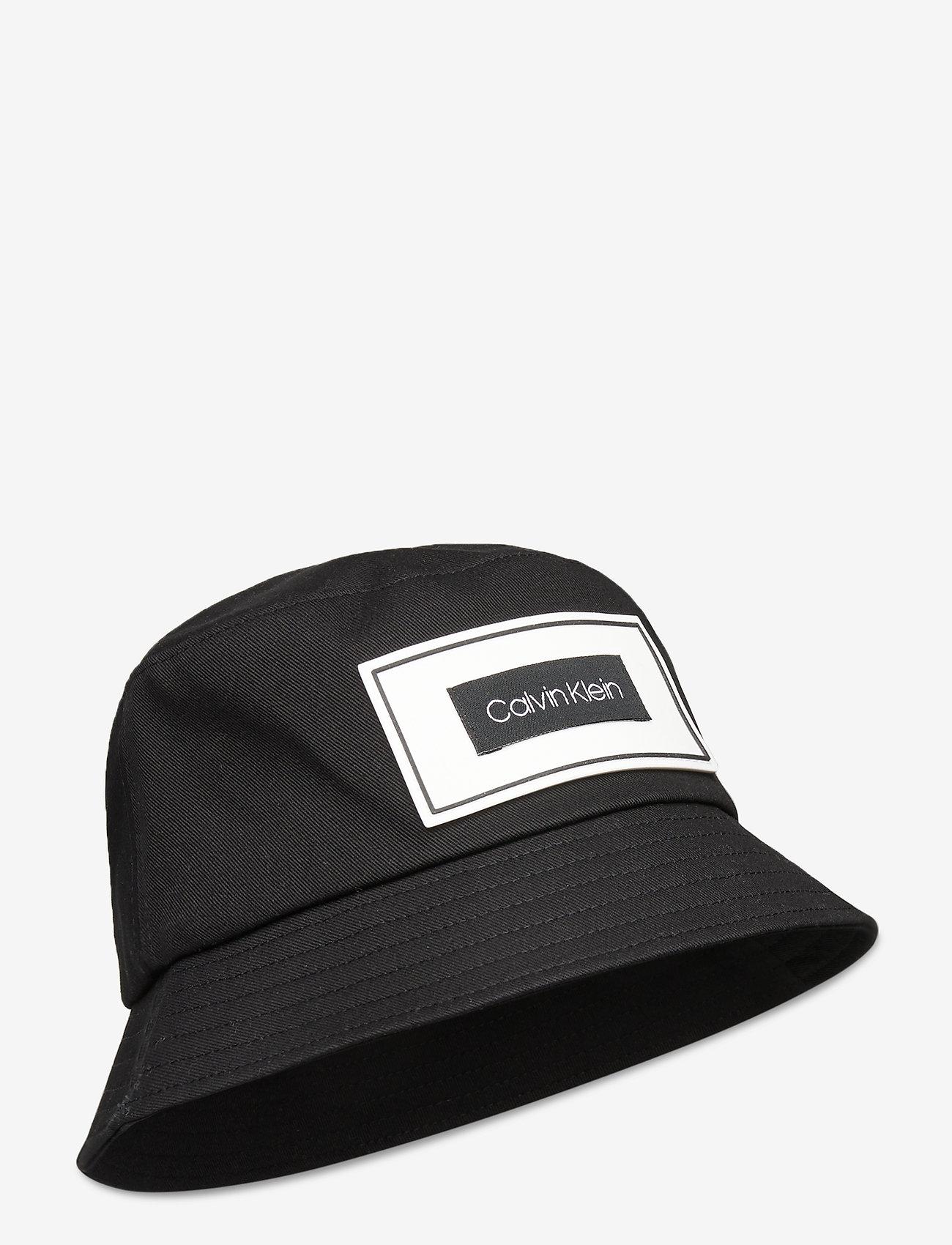 Calvin Klein - MULTI PATCH BUCKET - bucket hats - black - 0