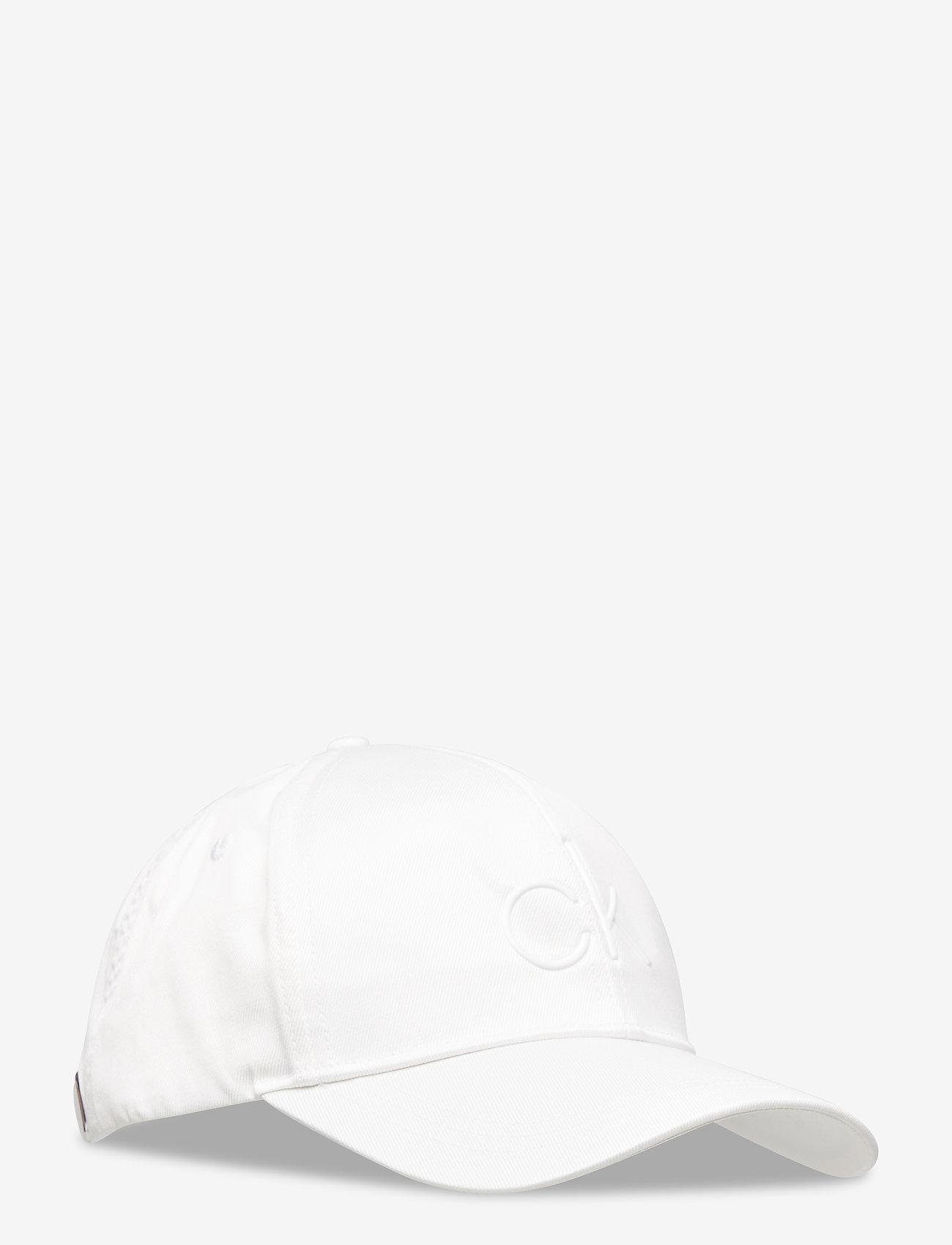 Calvin Klein - CK TPU BB CAP - caps - white - 0