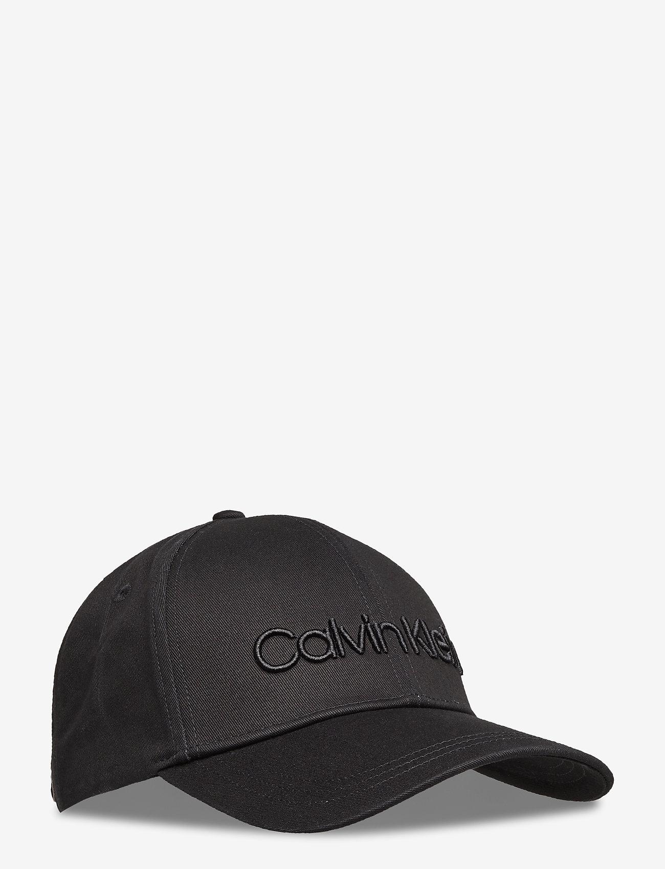 Calvin Klein - CALVIN EMBROIDERY BB CAP - caps - black - 0