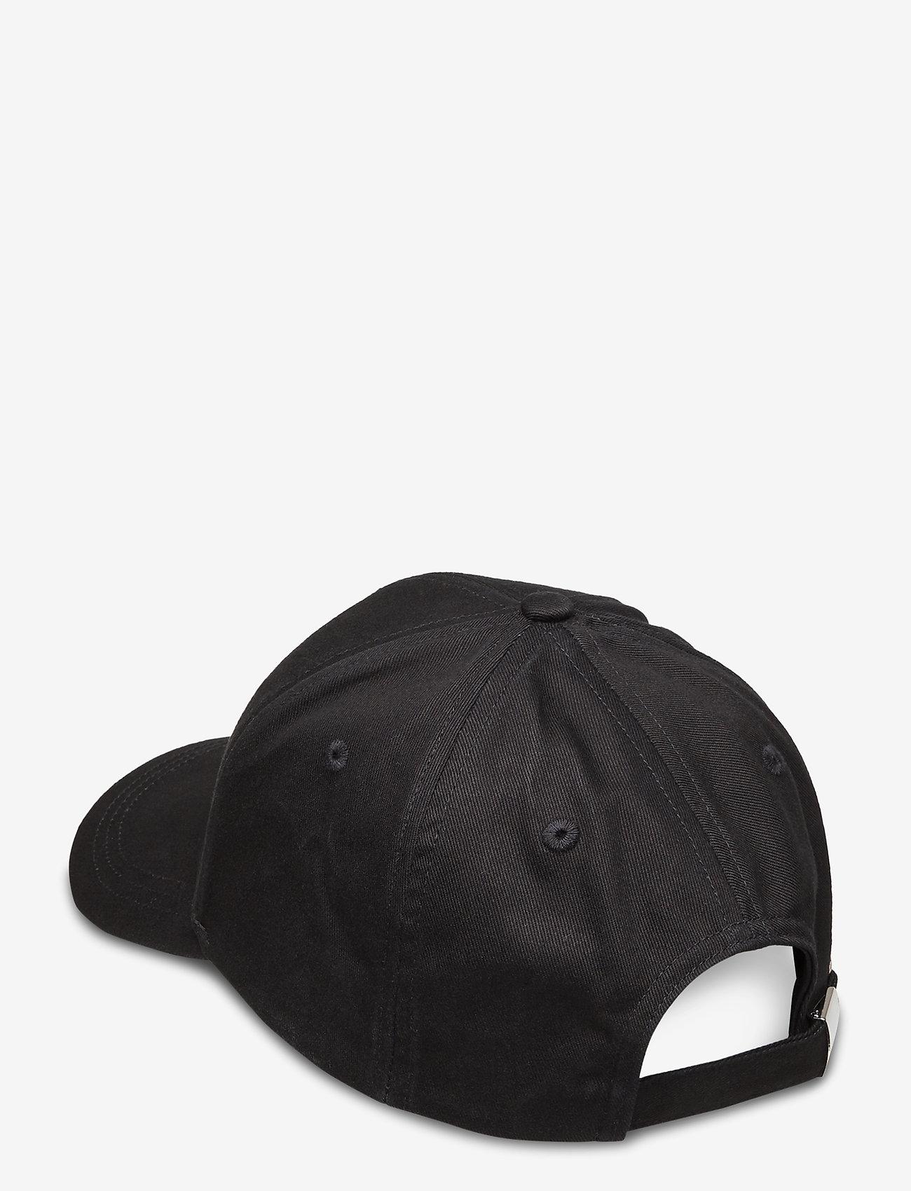 Calvin Klein - CALVIN EMBROIDERY BB CAP - caps - black - 1
