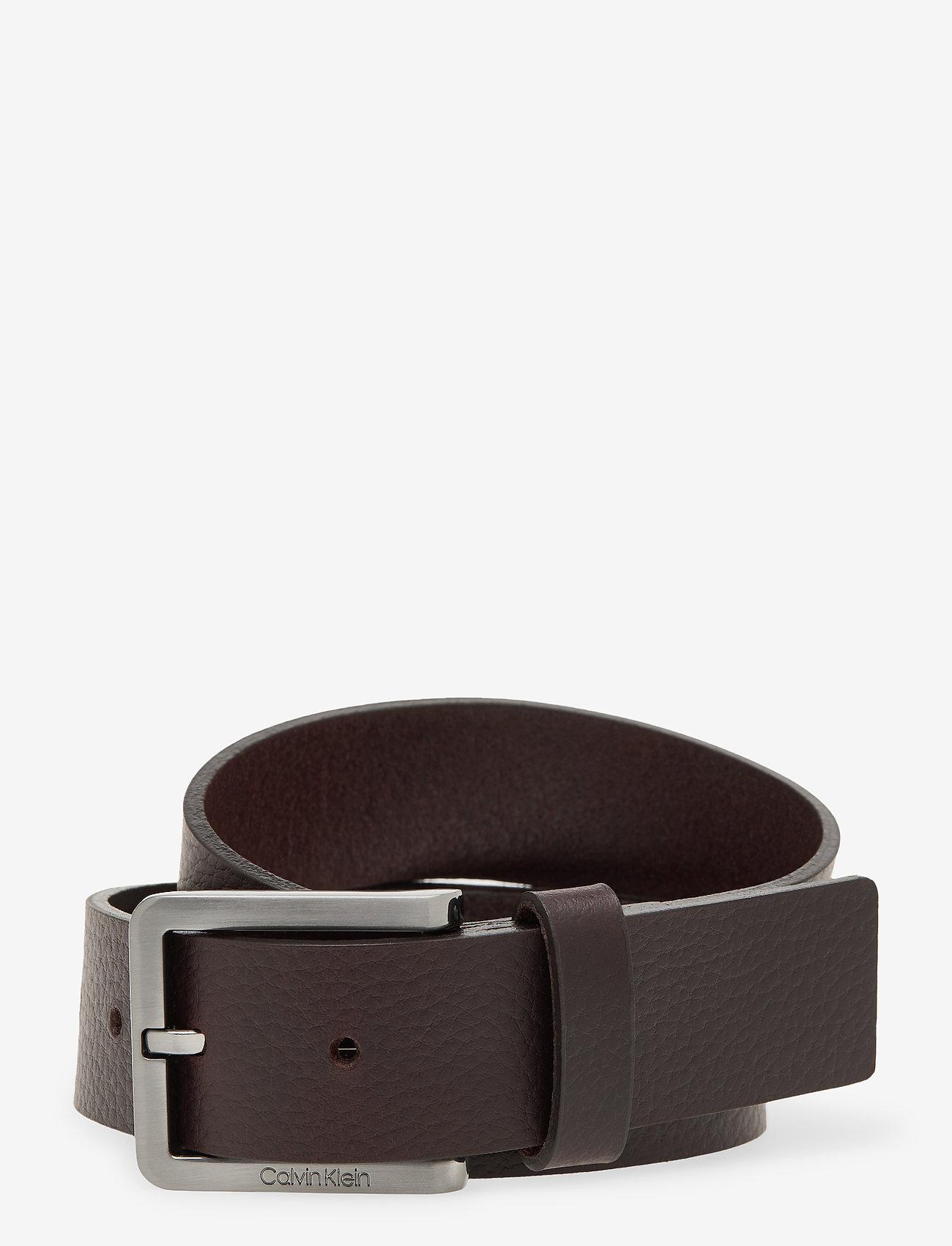 Calvin Klein - ESSENTIAL PLUS 35MM - belts - dark brown - 0