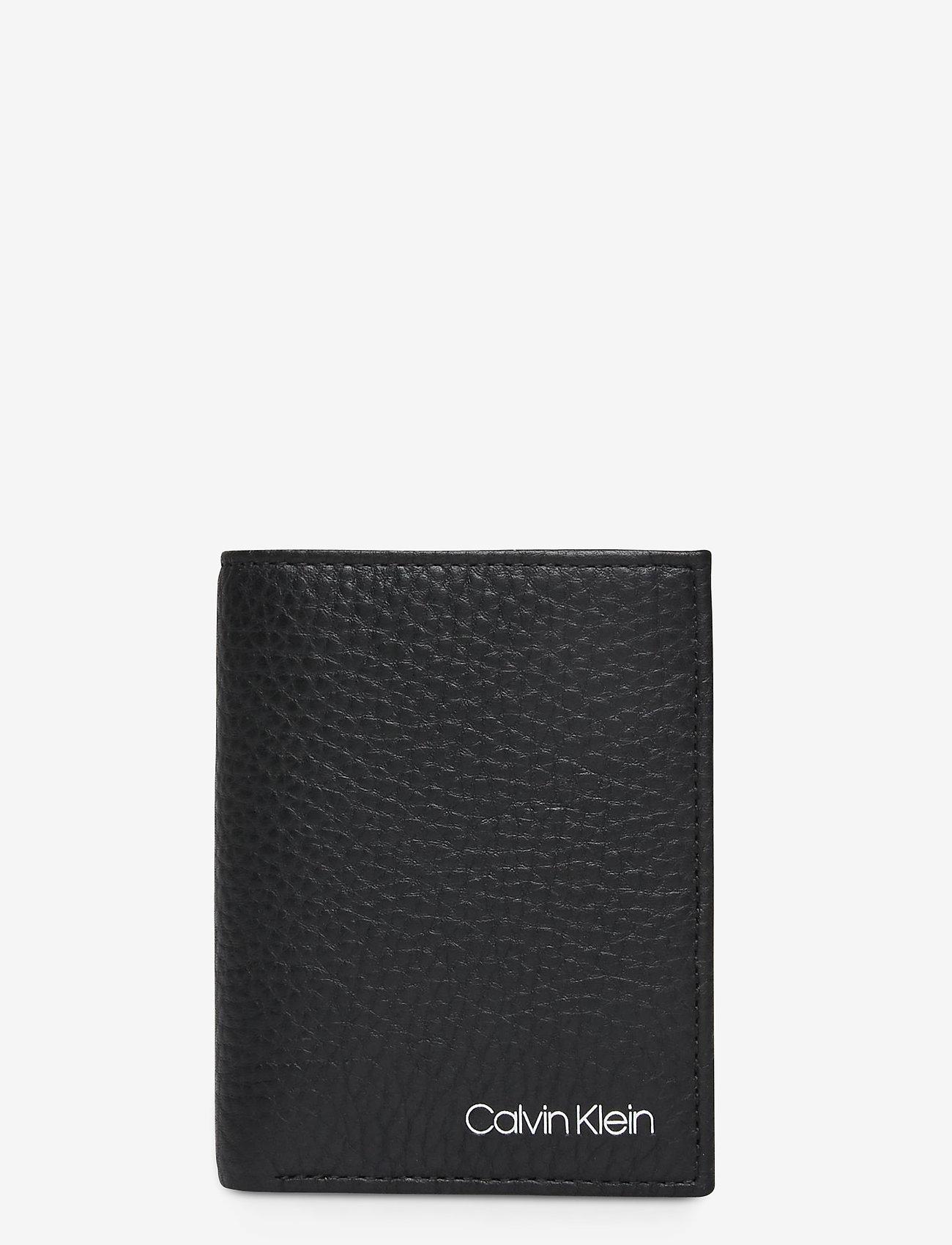 Calvin Klein - CK QT POCKET MINI 6CC - wallets - black - 0