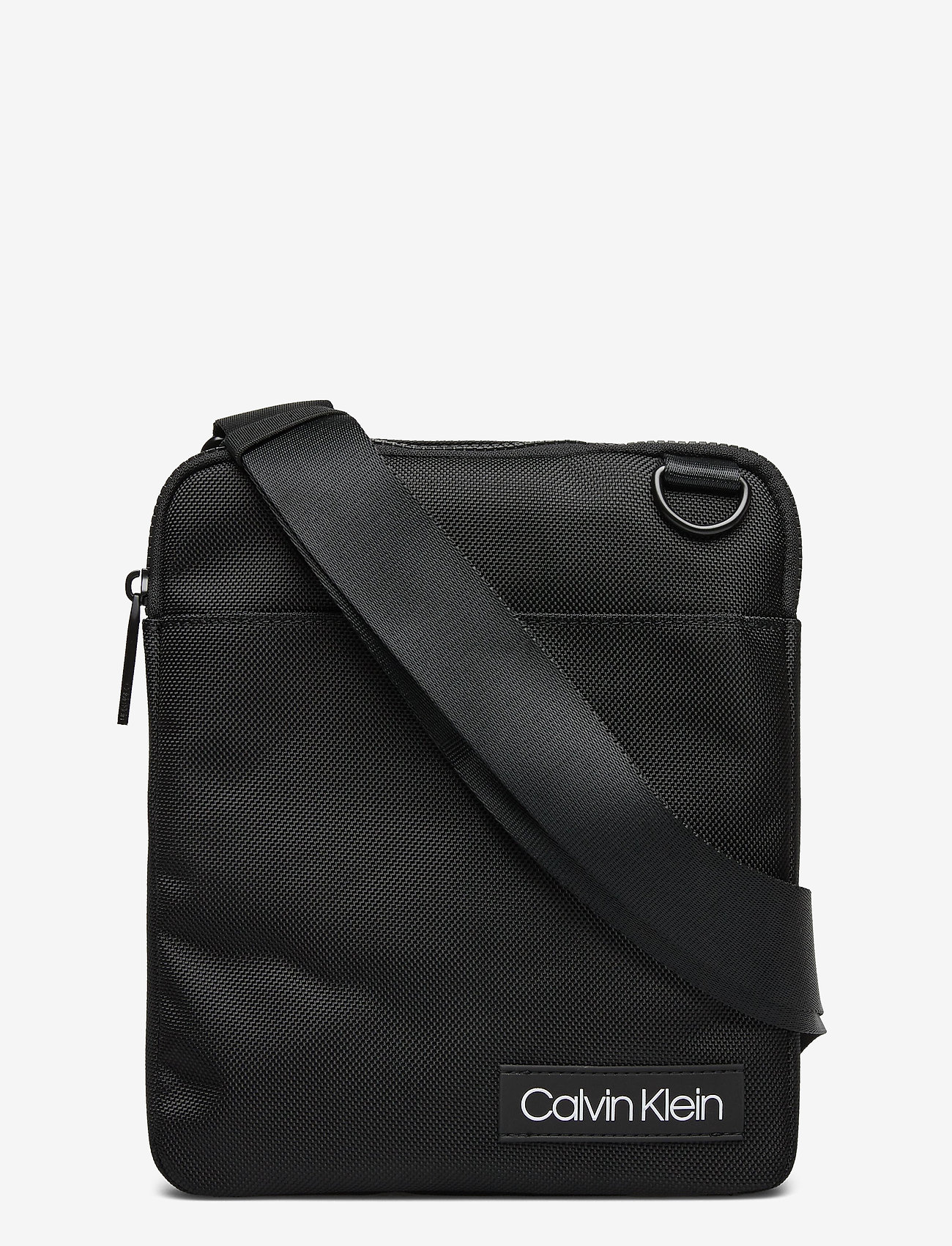 Calvin Klein - ULTIMATE NYLON FLAT - sacs à bandoulière - black - 0