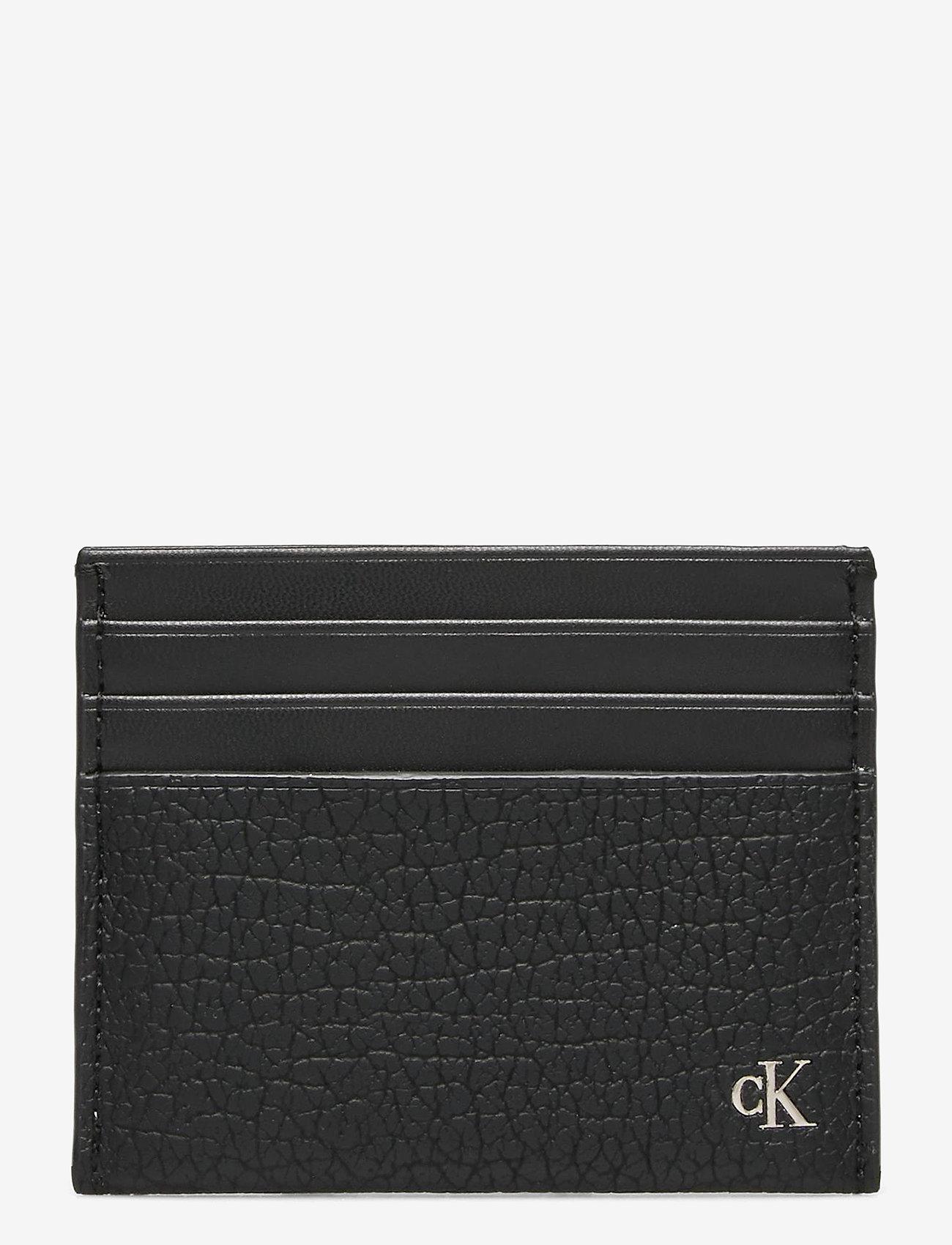 Calvin Klein - CARDCASE 6CC - kaart houders - black - 0